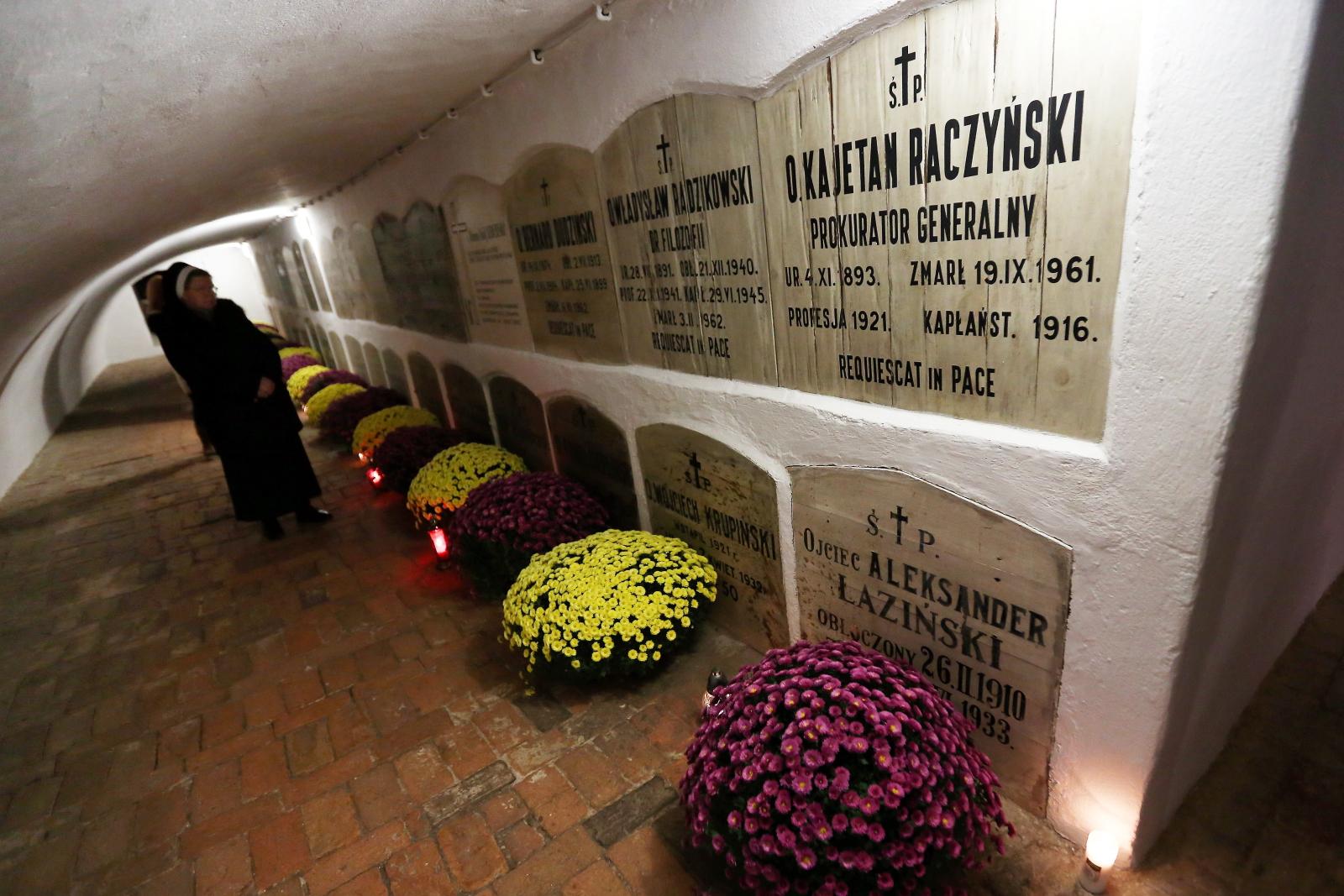 Jasna Góra, krypty pod kaplicą Matki Bożej PAP/Waldemar Deska