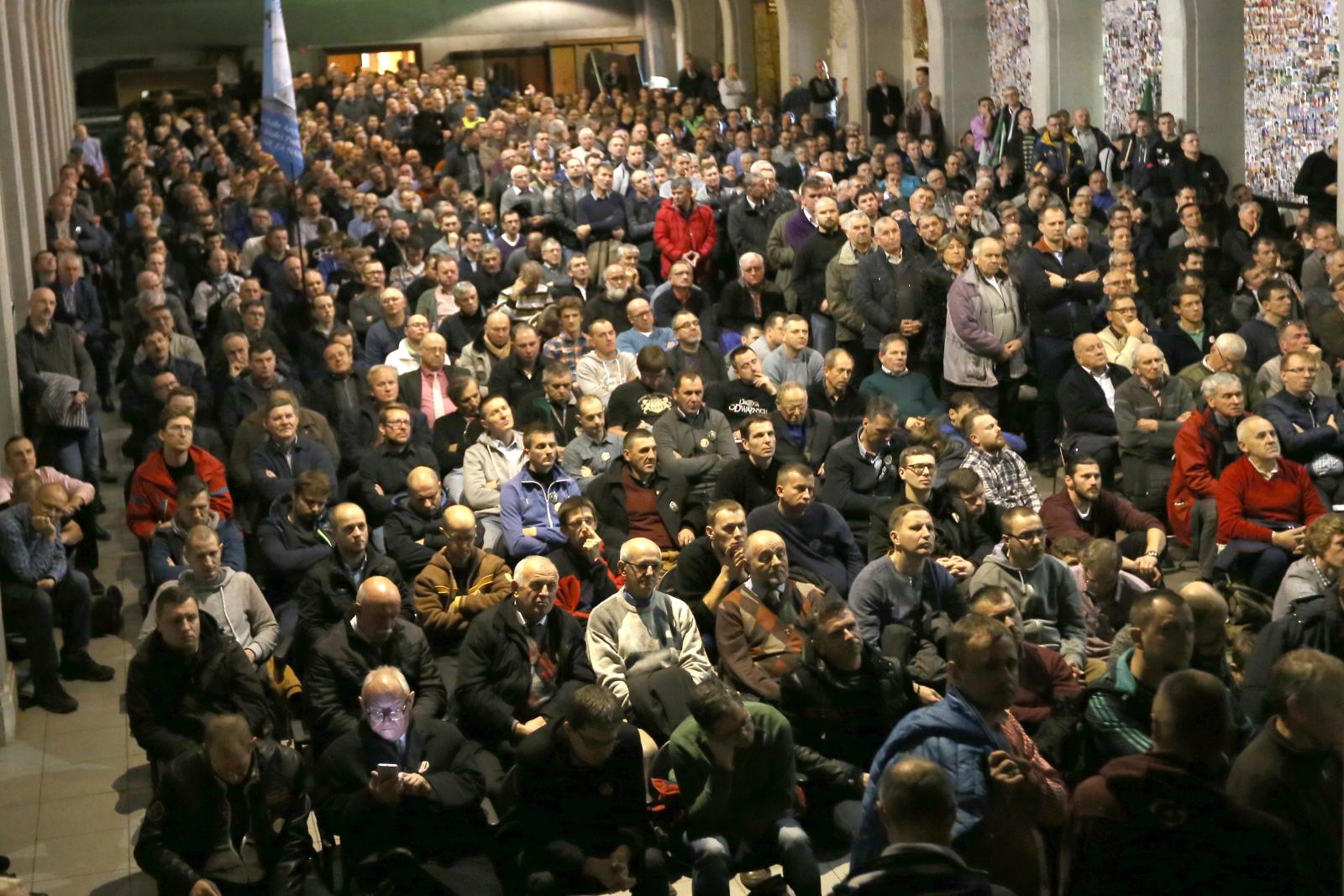 Częstochowa, Uczestnicy Narodowej Pielgrzymki Mężczyzn -