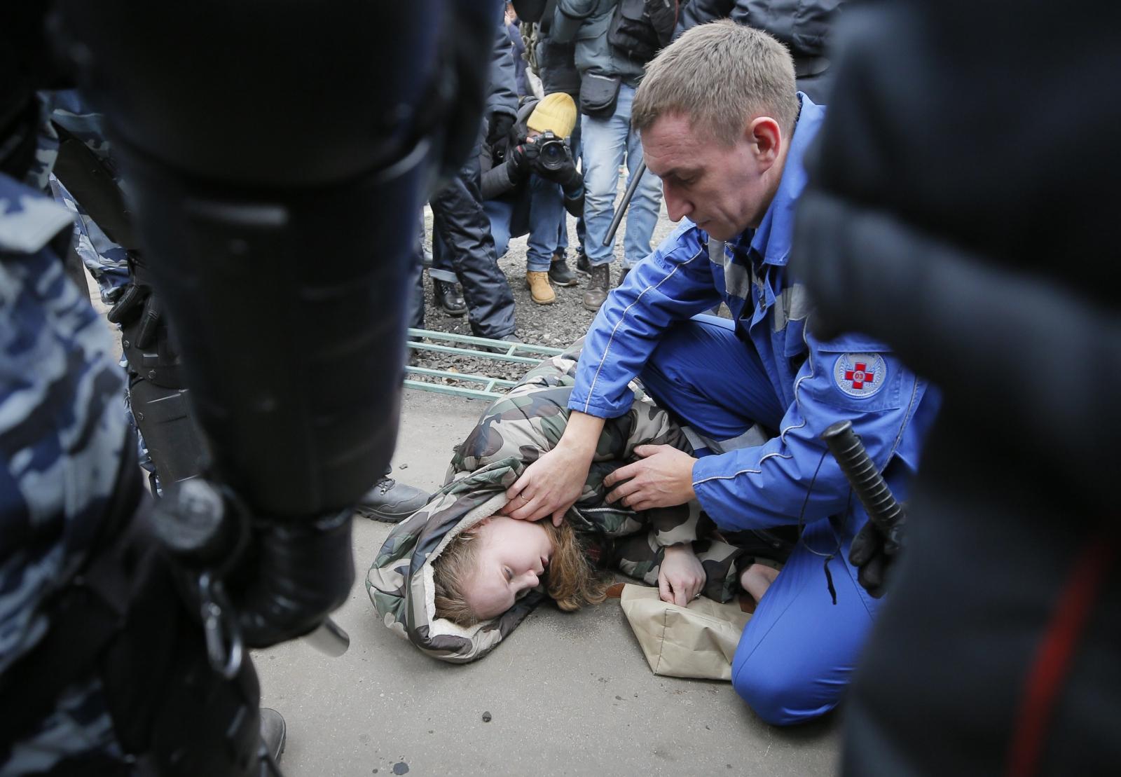 Dzień Jedność Narodowej w Rosji  EPA/MAXIM SHIPENKOV