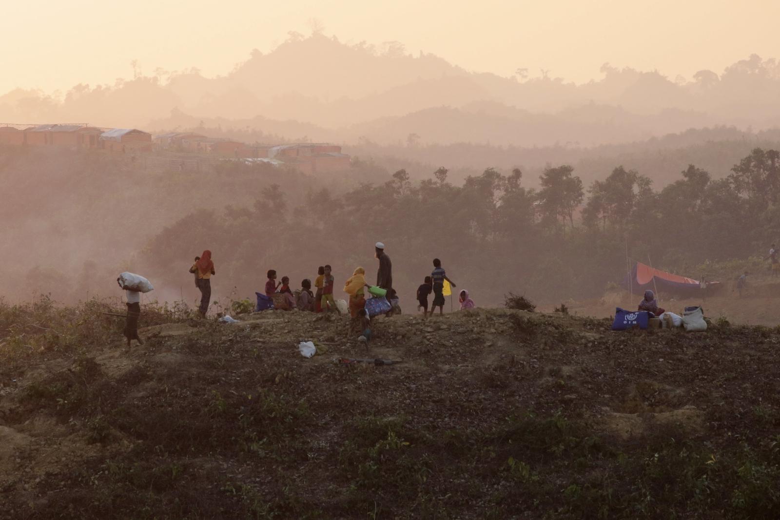 Uchodźcy w Bangladeszu