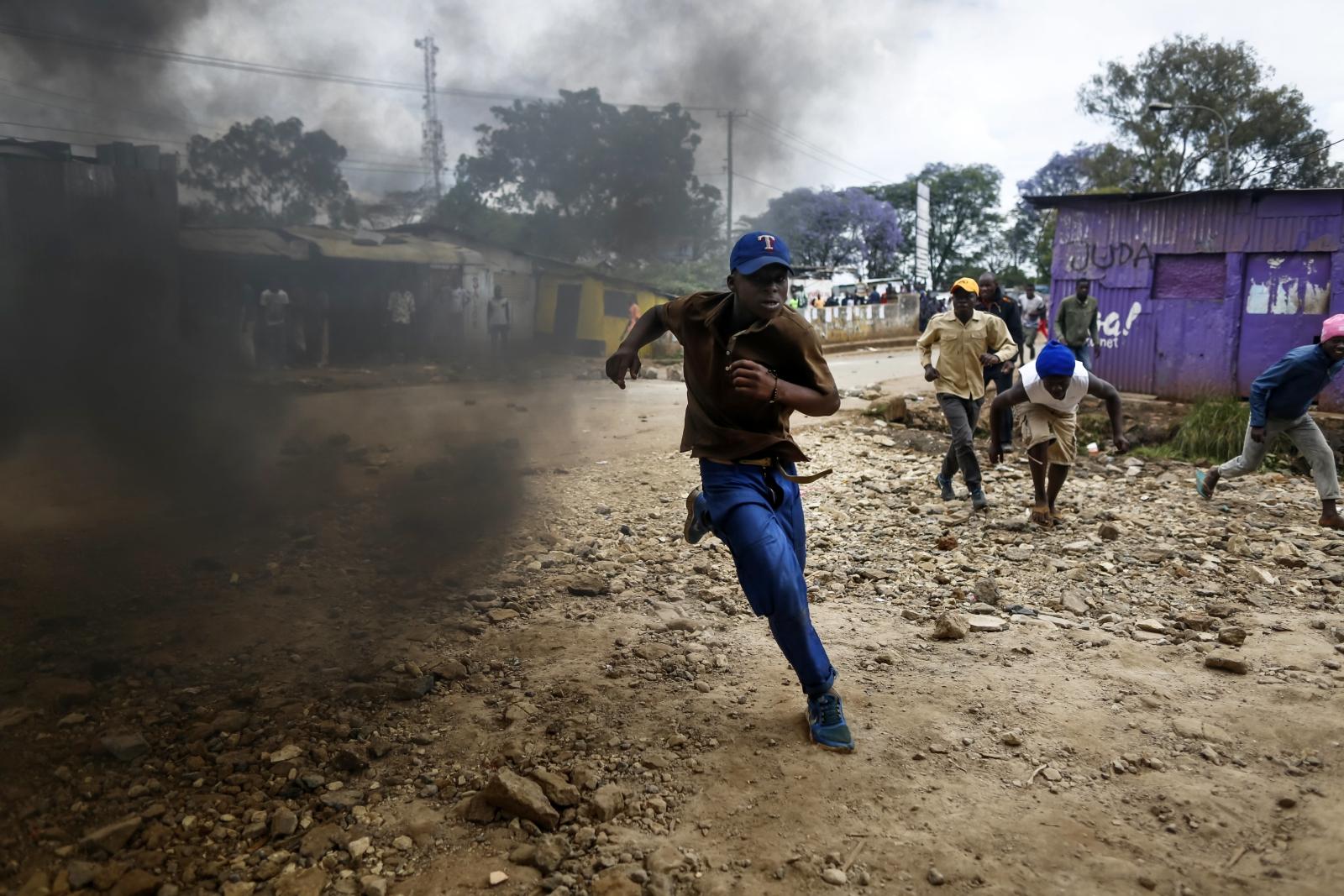 Zamieszki powyborcze w Kenii