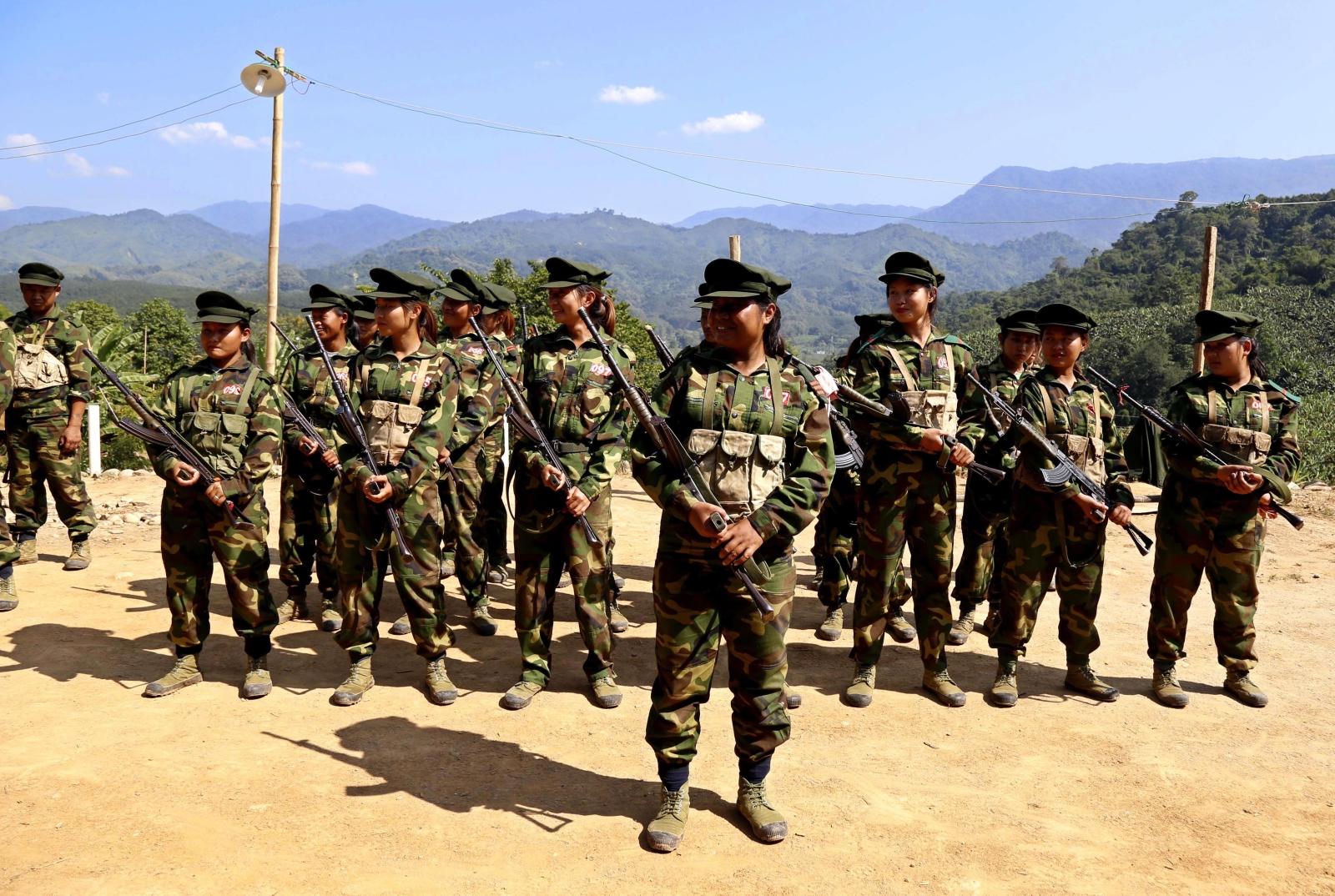 Dzień Niepodległości w Kachin, Myanmar