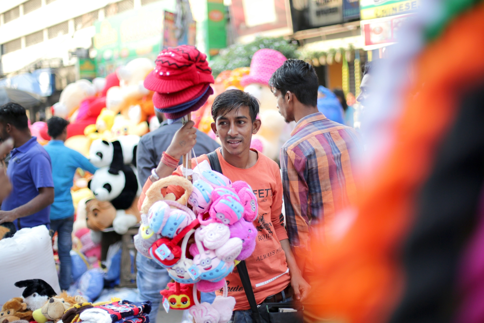 Indie, Kalkuta. fot. EPA/PIYAL ADHIKARY