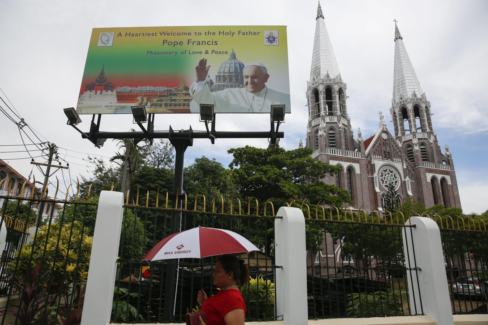 Mjanma przygotowuje się na przyjazd papieża Franciszka.