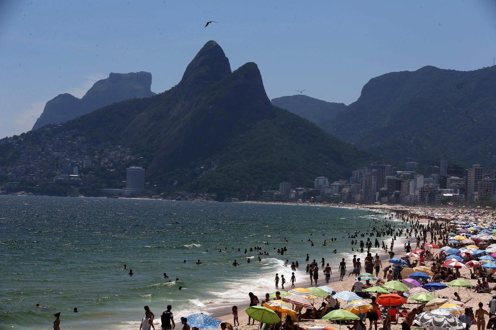 Rio de Janeiro. fot. EPA/Marcelo Sayao