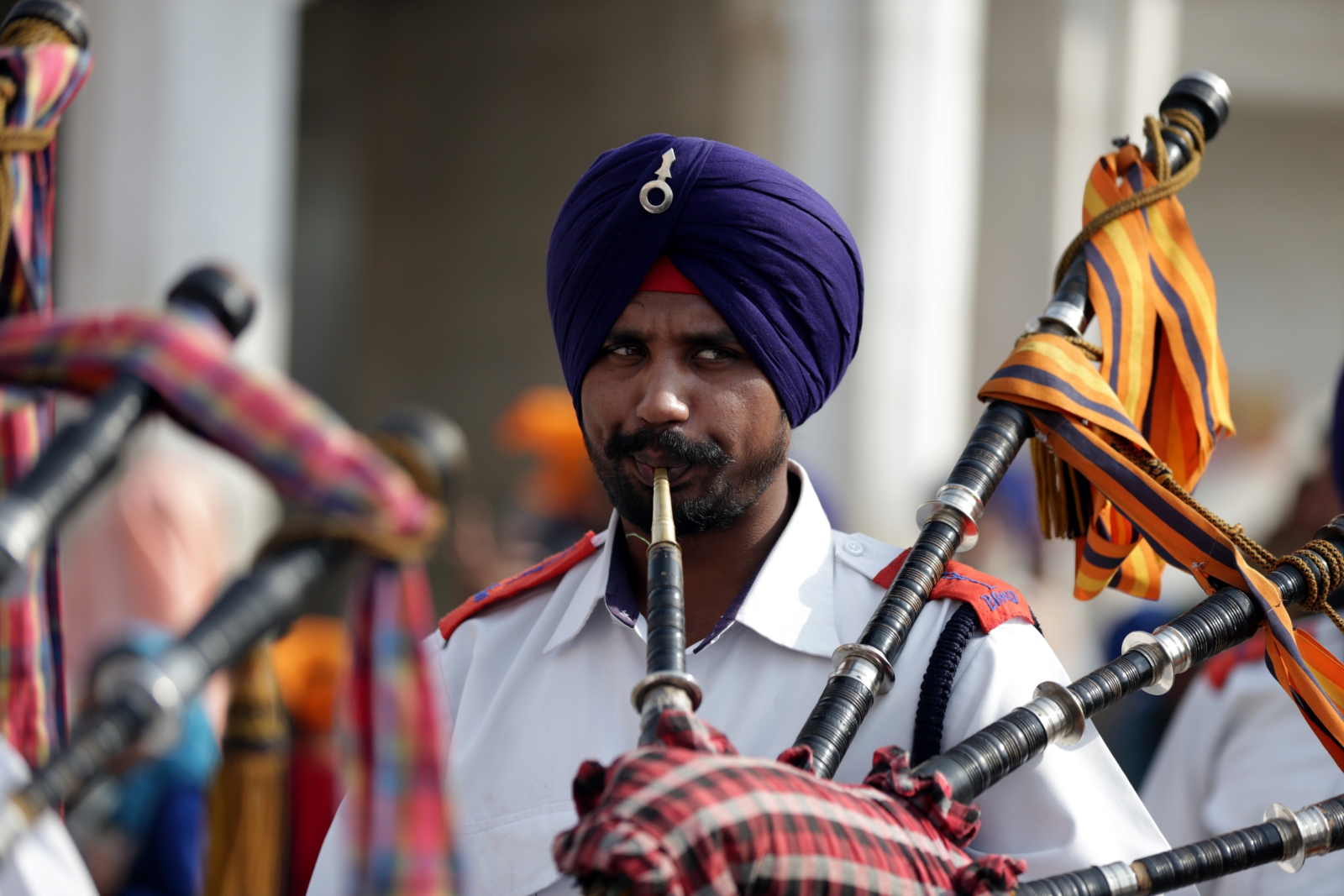 Sikhowie na ulicach Indii