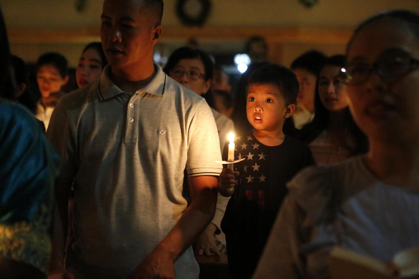 Boże Narodzenie w Indonezji. fot. EPA/HOTLI SIMANJUNTAK