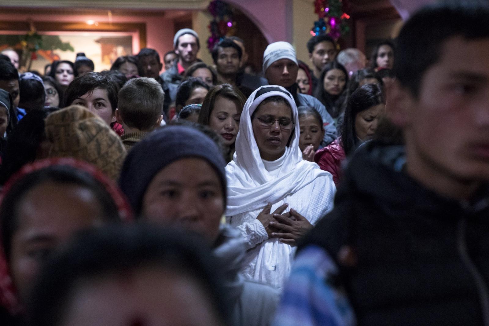 Boże Narodzenie w Nepalu. fot. EPA/Hemanta Shrestha
