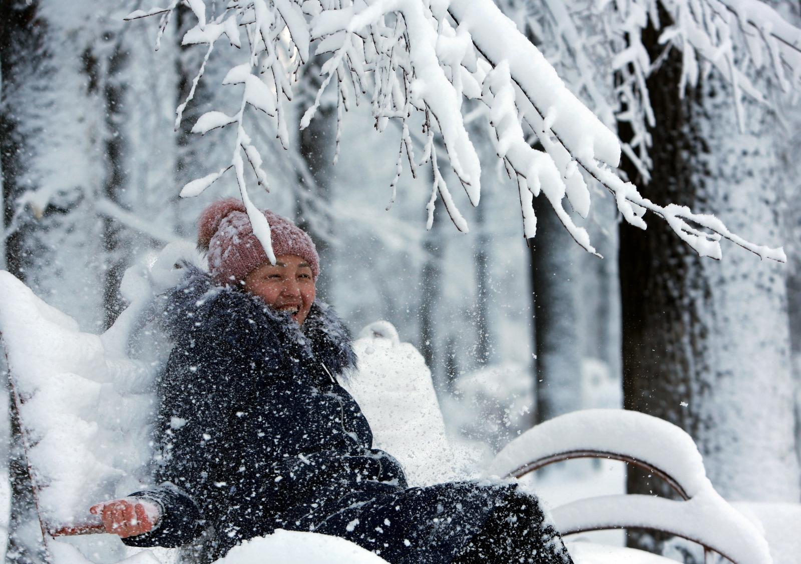 Kirgistan. fot. EPA/IGOR KOVALENKO