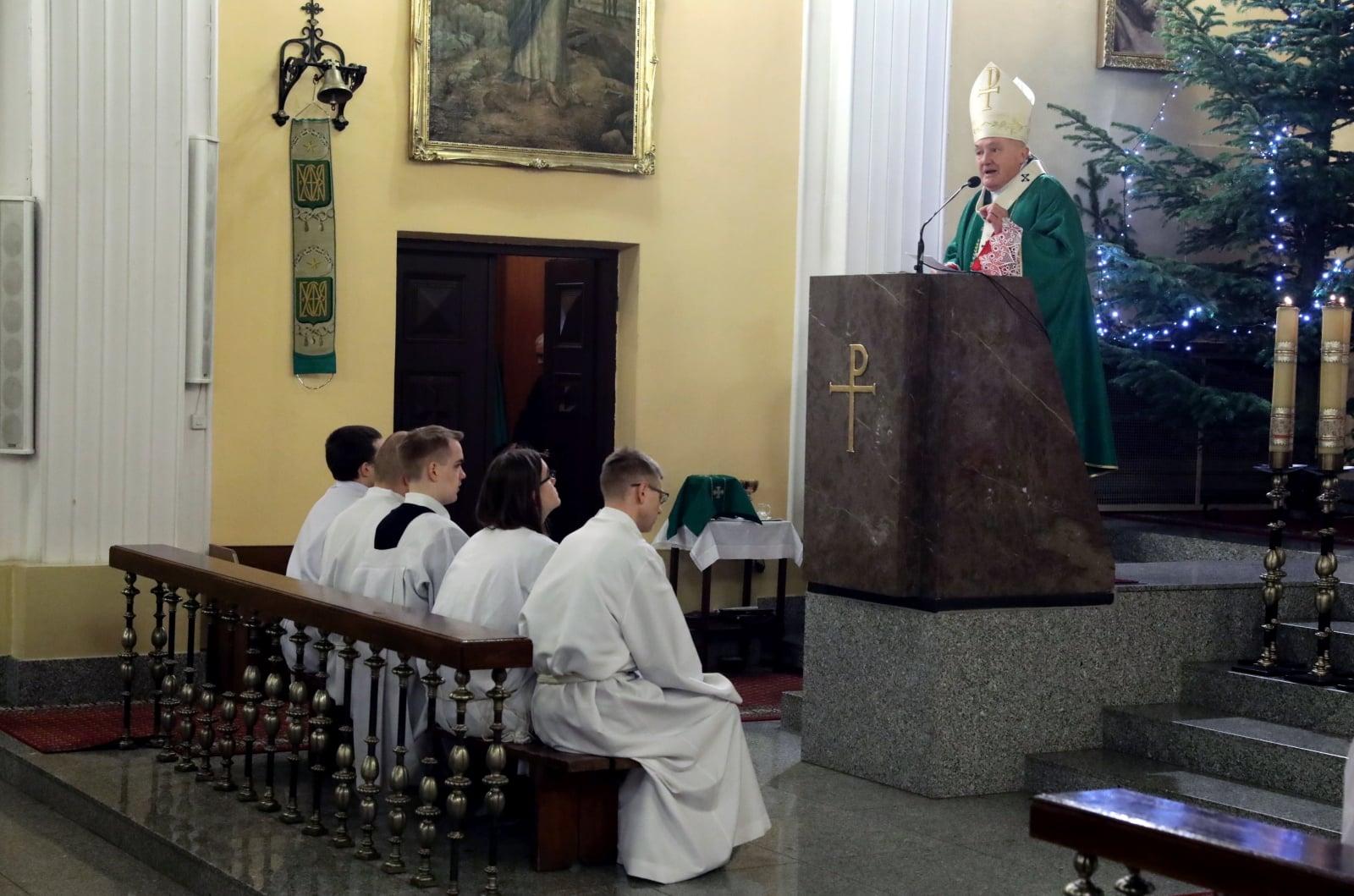 Msza za migrantów i uchodźców w Warszawie, w parafii świętej Teresy od Dzieciątka Jezus