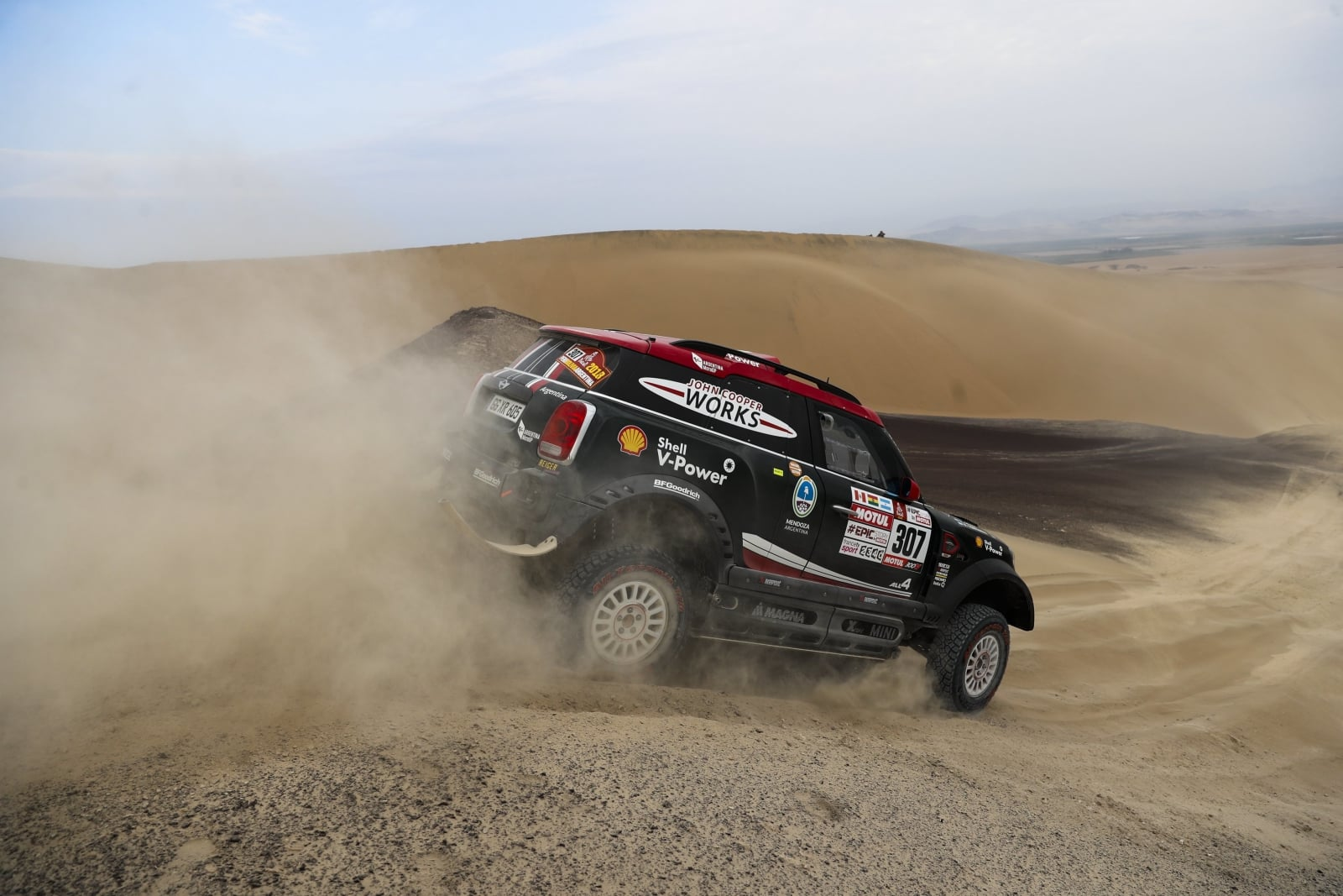 Peru, odcinek Wyścigu Dakar EPA/DAVID FERNANDEZ