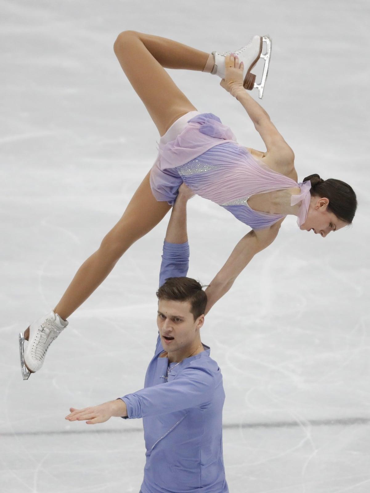 Mistrzostwa Europy w łyżwiarstwie figurowym w Moskwie, Rosja, fot.  EPA/YURI KOCHETKOV