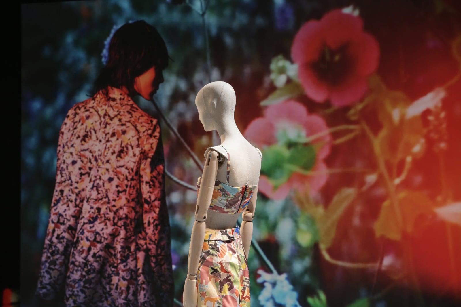 Prace Jil Sander na wystawie  w Muzeum Sztuki Stosowanej we Frankfurcie nad Menem, Niemcy, fot. EPA/ARMANDO BABANI