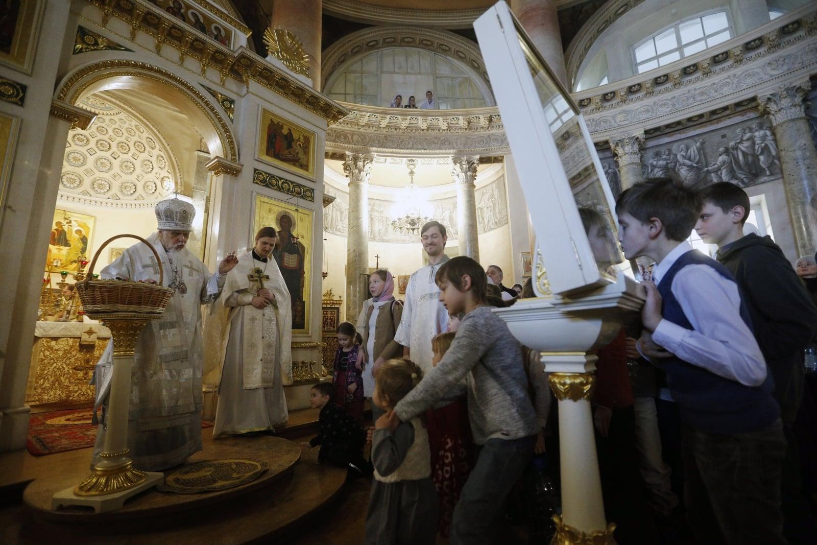 Rosja, prawosławie, Święto Epifanii EPA/SERGEI CHIRIKOV
