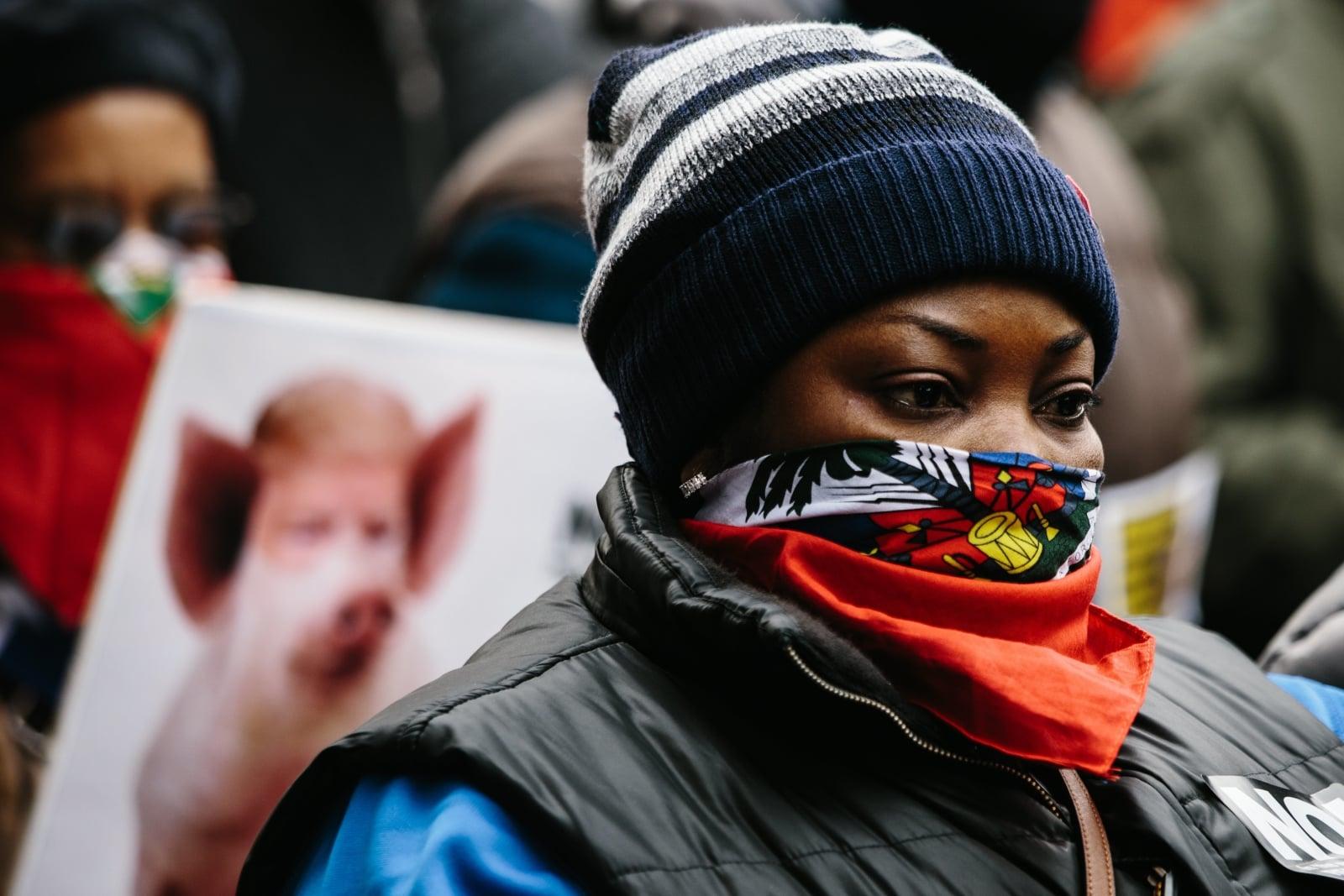 USA - protest przeciw rasizmowi EPA/ALBA VIGARAY