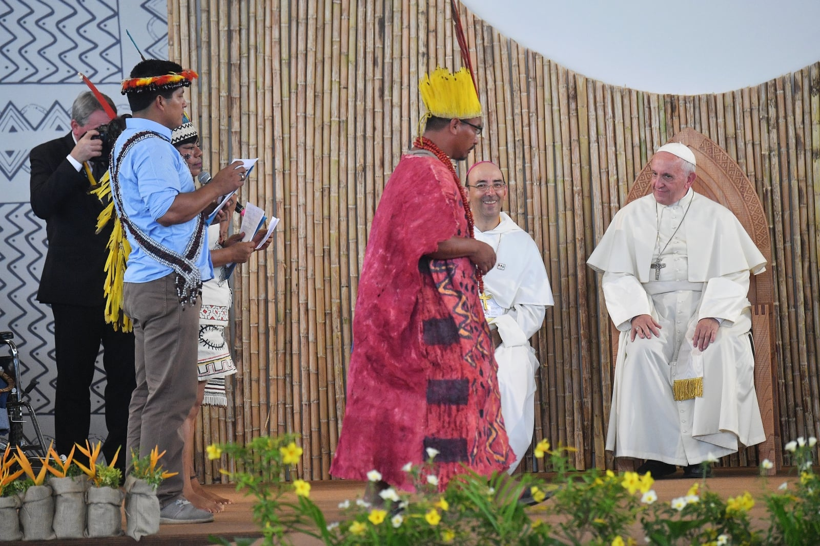 Papież Franciszek w Peru  EPA/LUCA ZENNARO