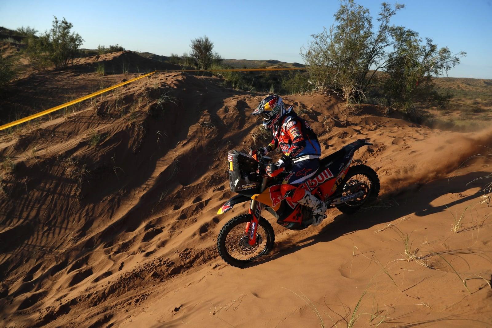 Argentyński odcinek Rajdu Dakar EPA/DAVID FERNANDEZ