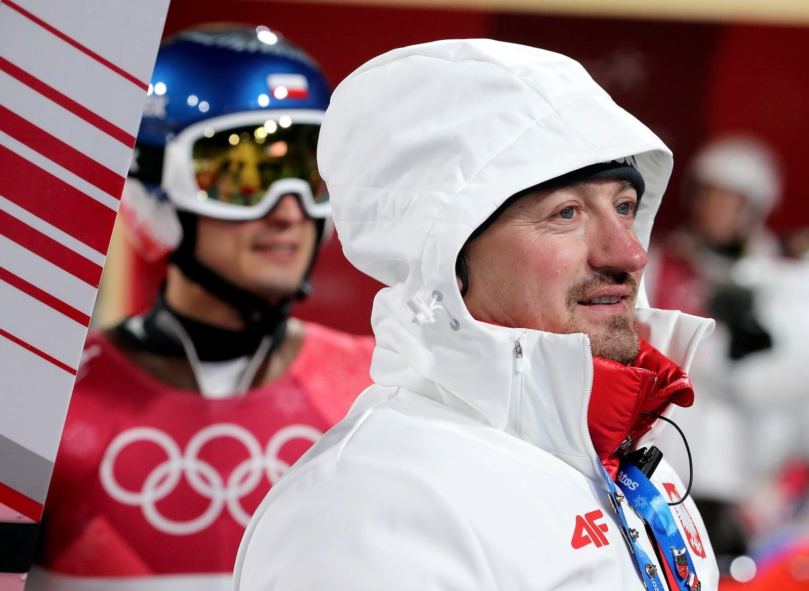 Pjongczang, Zimowe Igrzyska Olimpijskie - Adam Małysz na kwalifikacjach do indywidualnego konkursu PAP/Grzegorz Momot