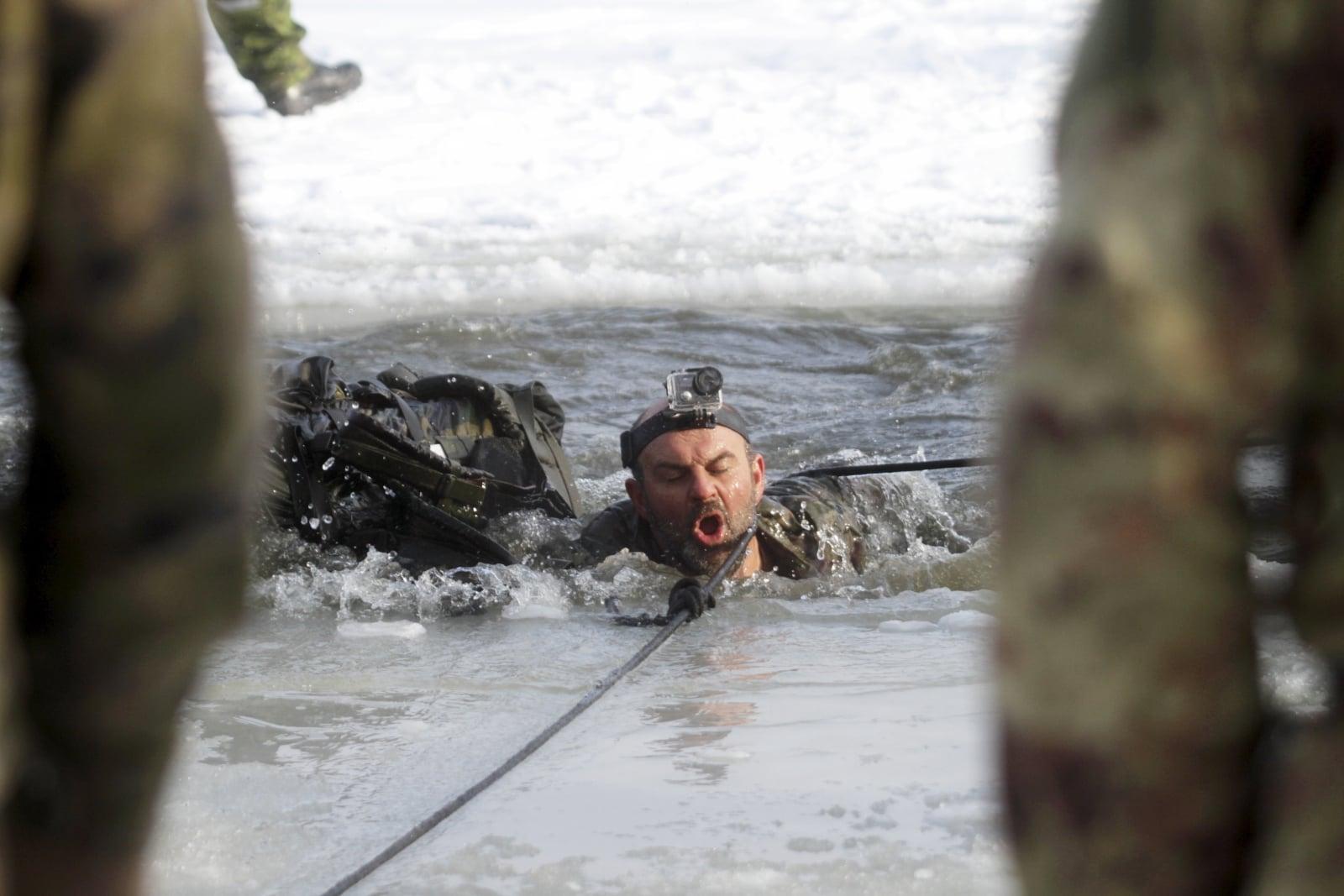 Ćwiczenia NATO na Litwie EPA/VALDA KALNINA