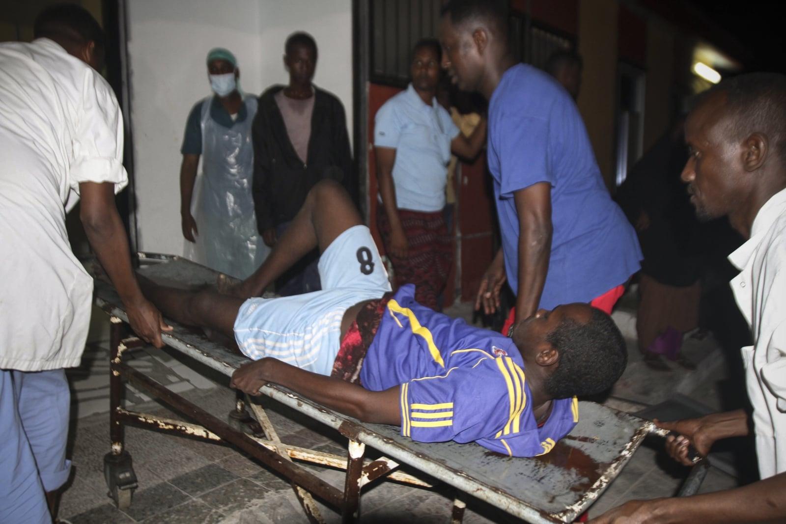Samochód-bomba w Somalii fot. EPA/SAID YUSUF WARSAME