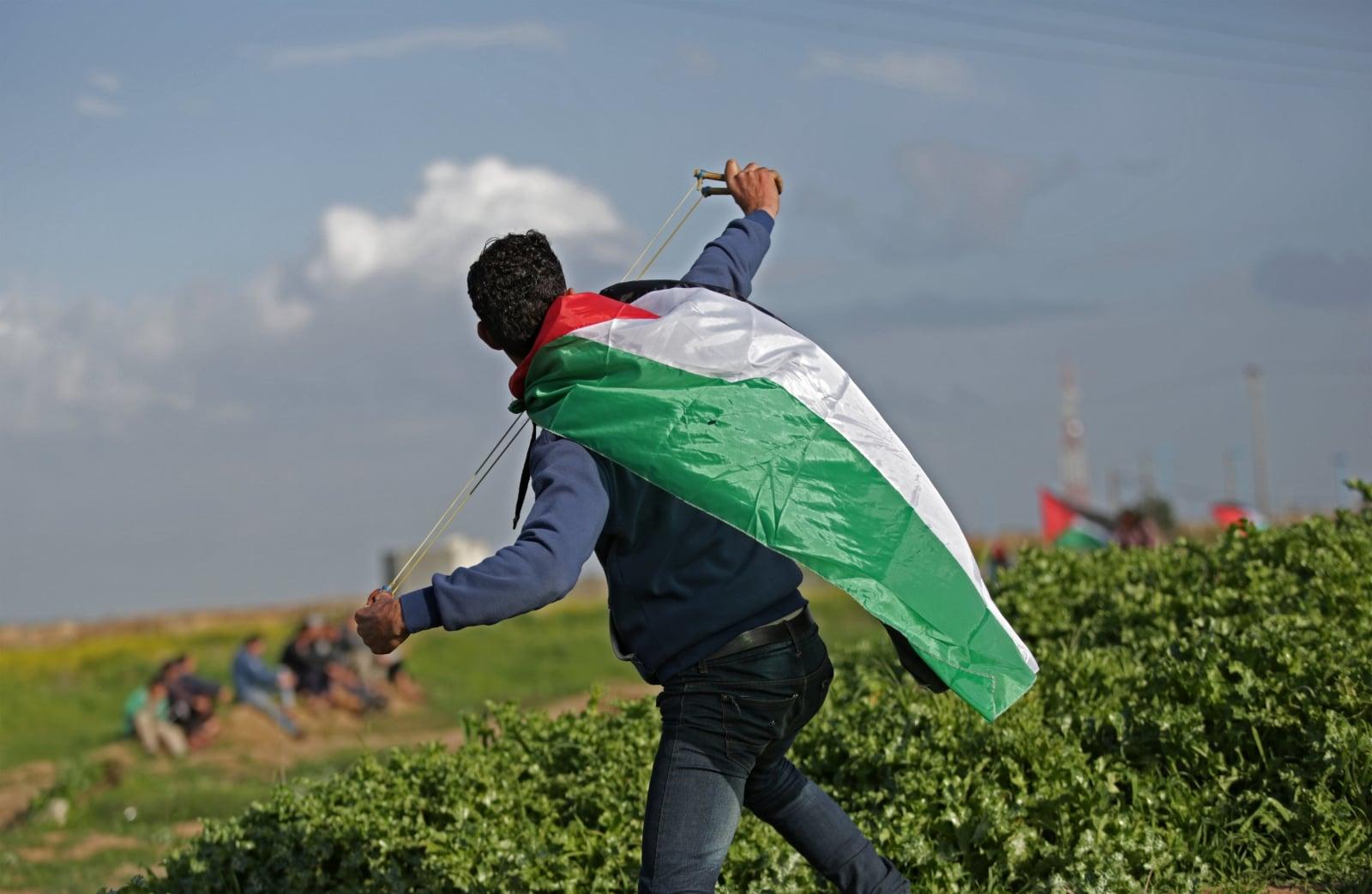Konflikt izraelsko-palestyński fot. EPA/MOHAMMED SABER