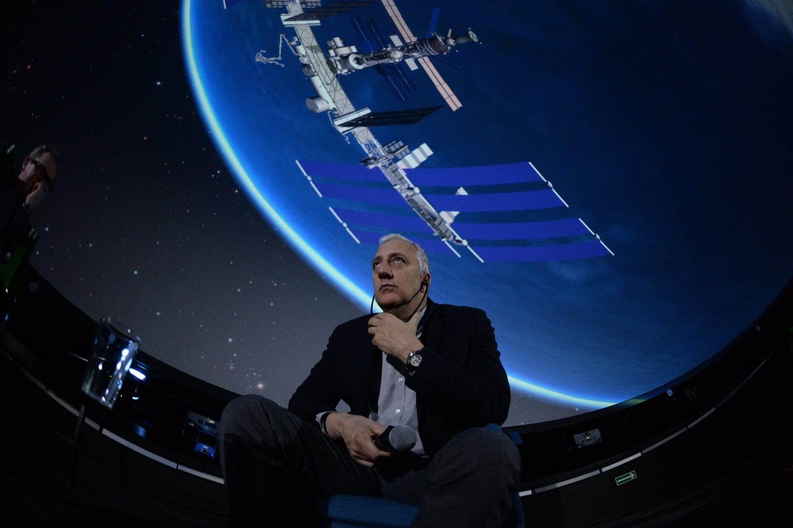 Astronauta NASA Michael (Mike) Massimino PAP/Jacek Turczyk