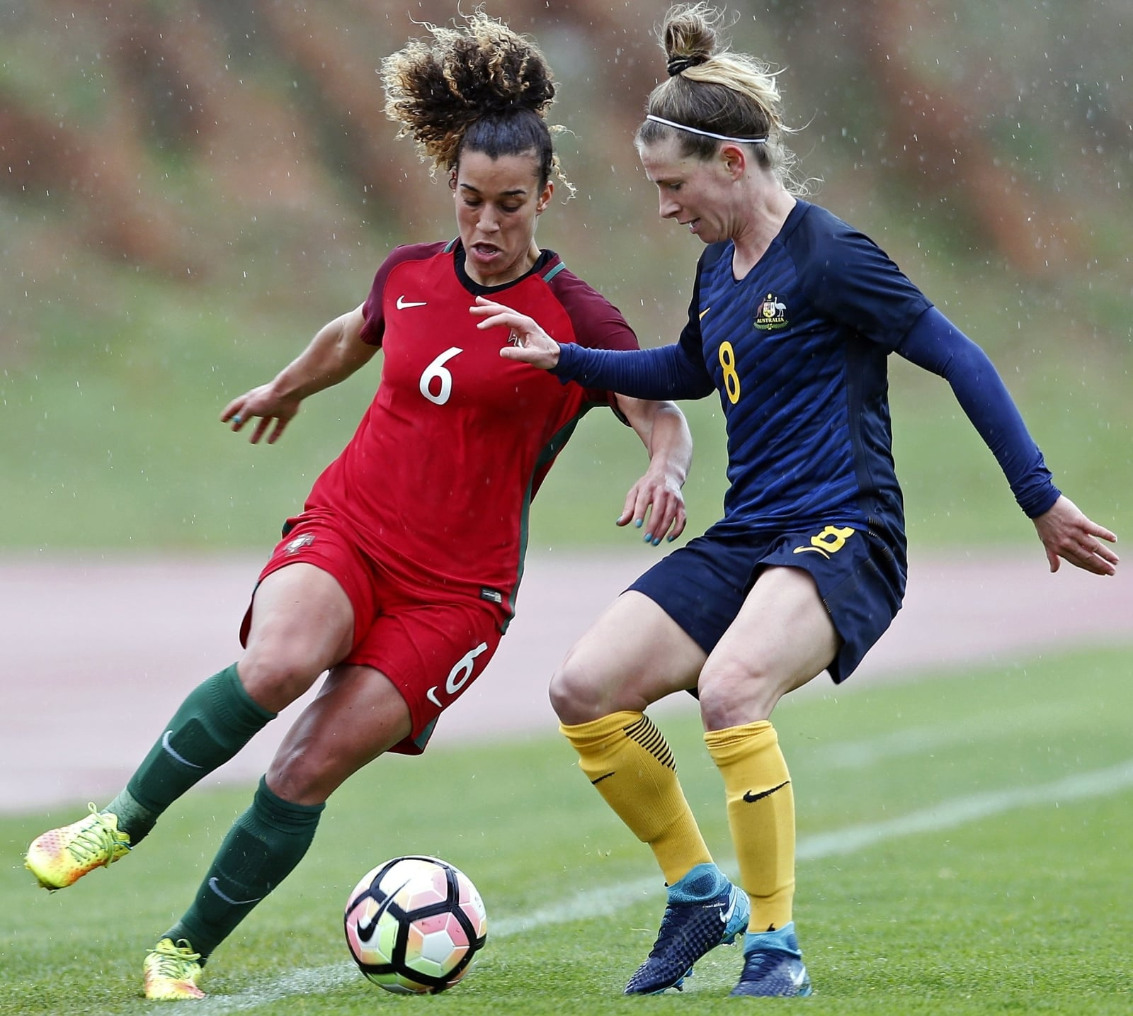 Soccer Algarve Cup 2018. fot. EPA/RICARDO NASCIMENTO