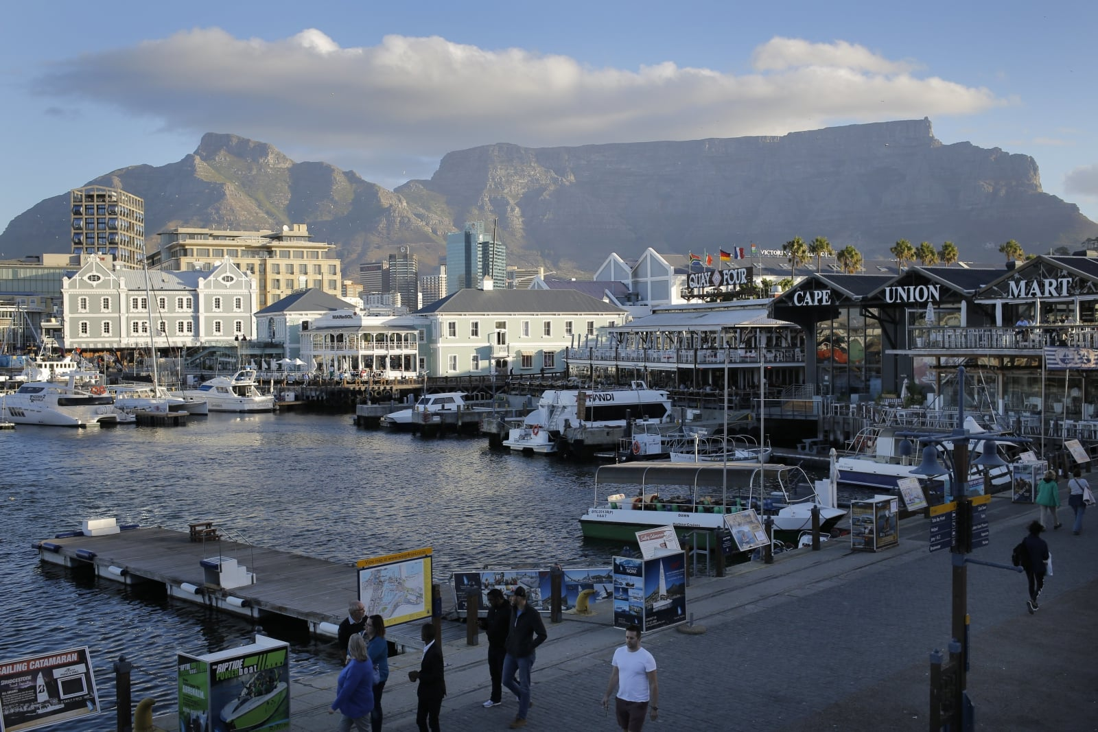 Turystyka w Afryce Południowej EPA/KIM LUDBROOK