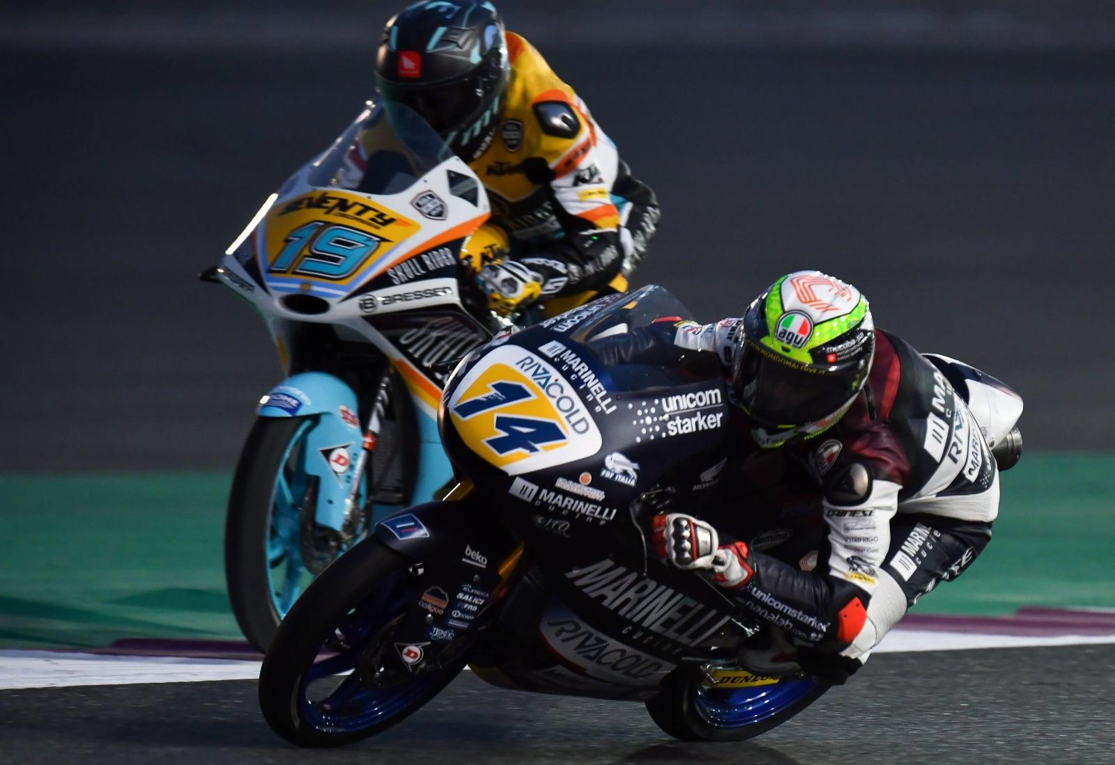 Motocykolwe Grand Prix w Katarze fot. EPA/NOUSHAD THEKKAIL