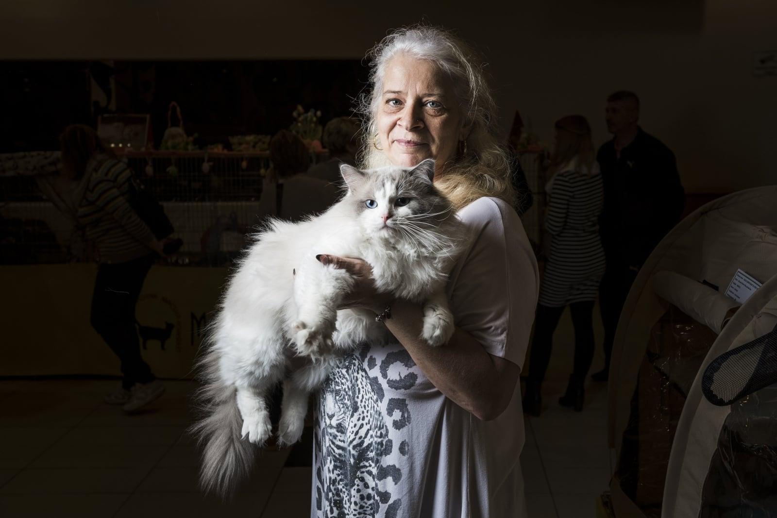 Międzynarodowy Cat Show w Budapeszcie fot. EPA/Marton Monus