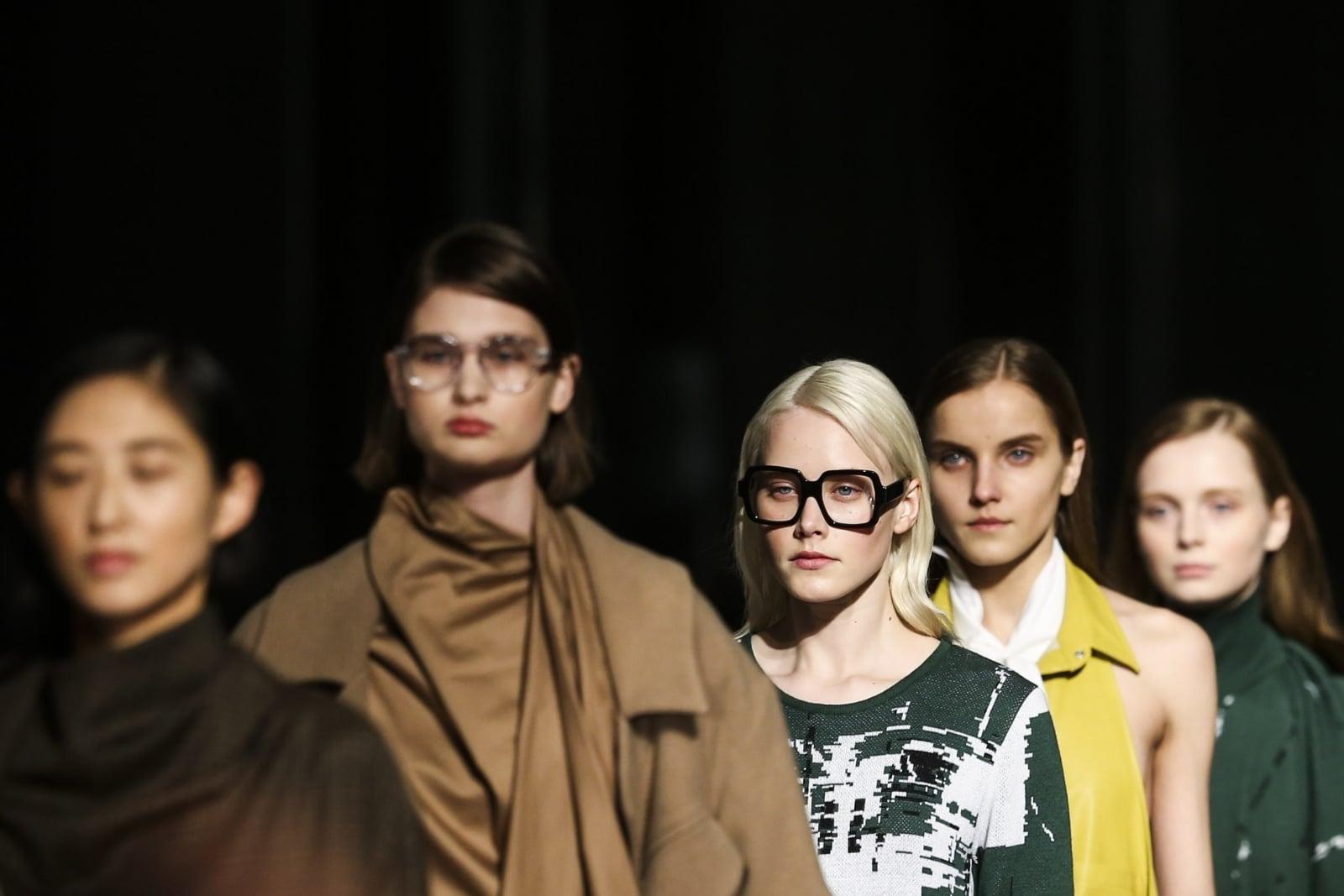 Fashion Week w Lizbonie fot. EPA/JOSE SENA GOULAO