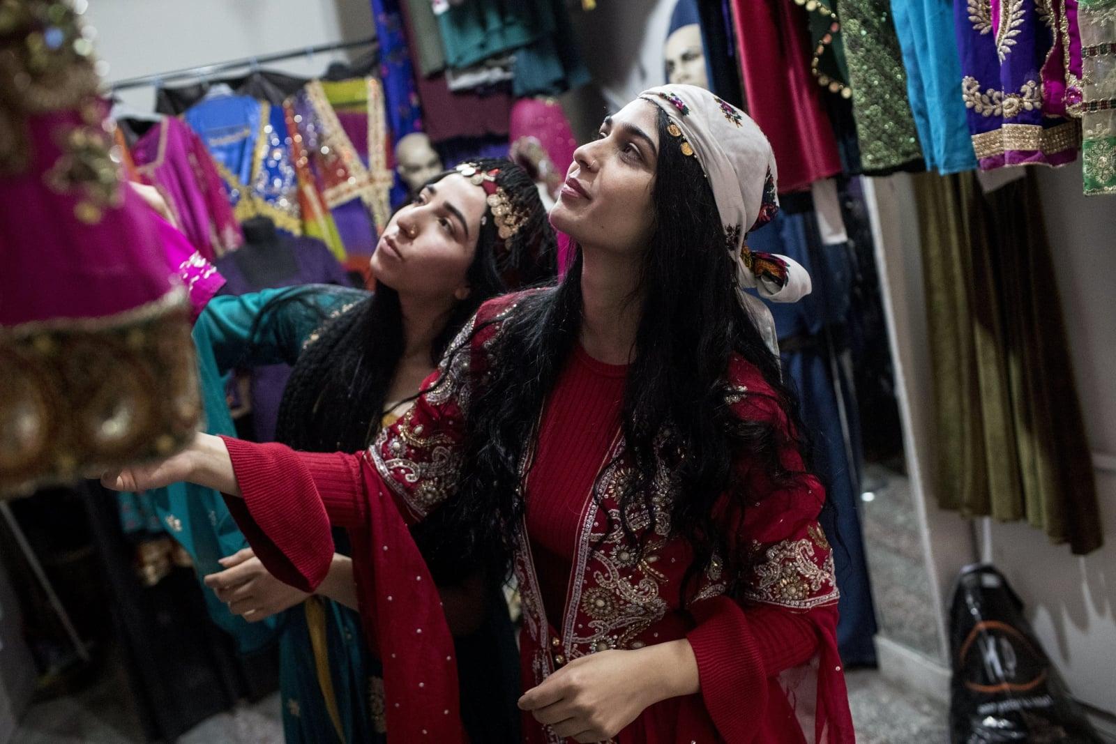 Dzień z życia Kurdów fot. EPA/SEDAT SUNA