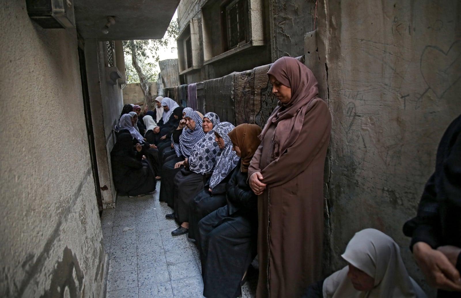 Konflikt izraelsko-palestyński fot. EPA/HASSAN ELJEDI