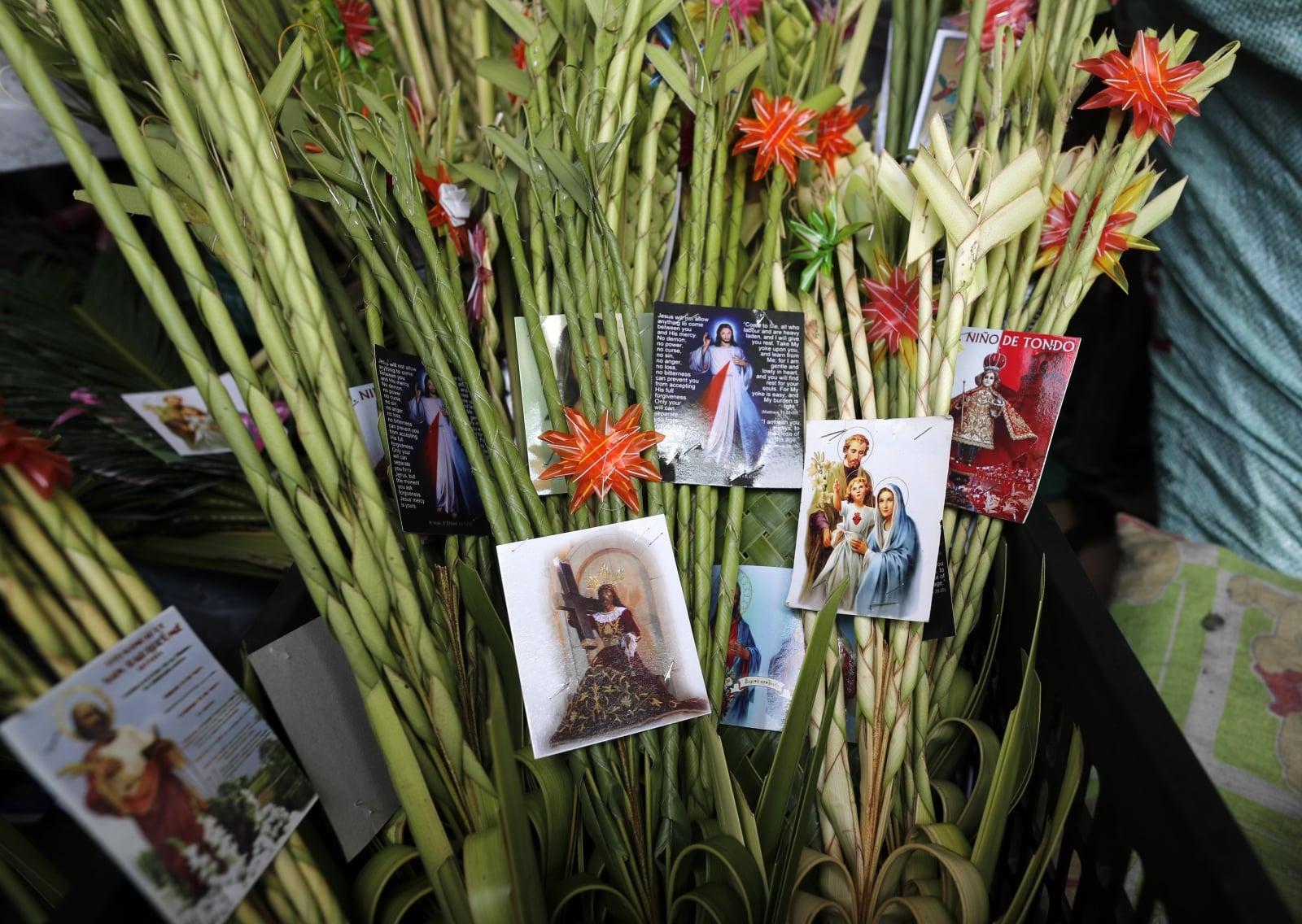 Na Filipinach katolicy przygotowują się do Niedzieli Palmowej