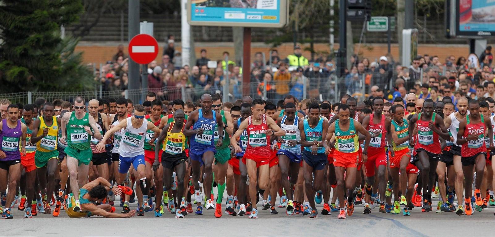 Zawody lekkoatletyczne w Walencji, Włochy