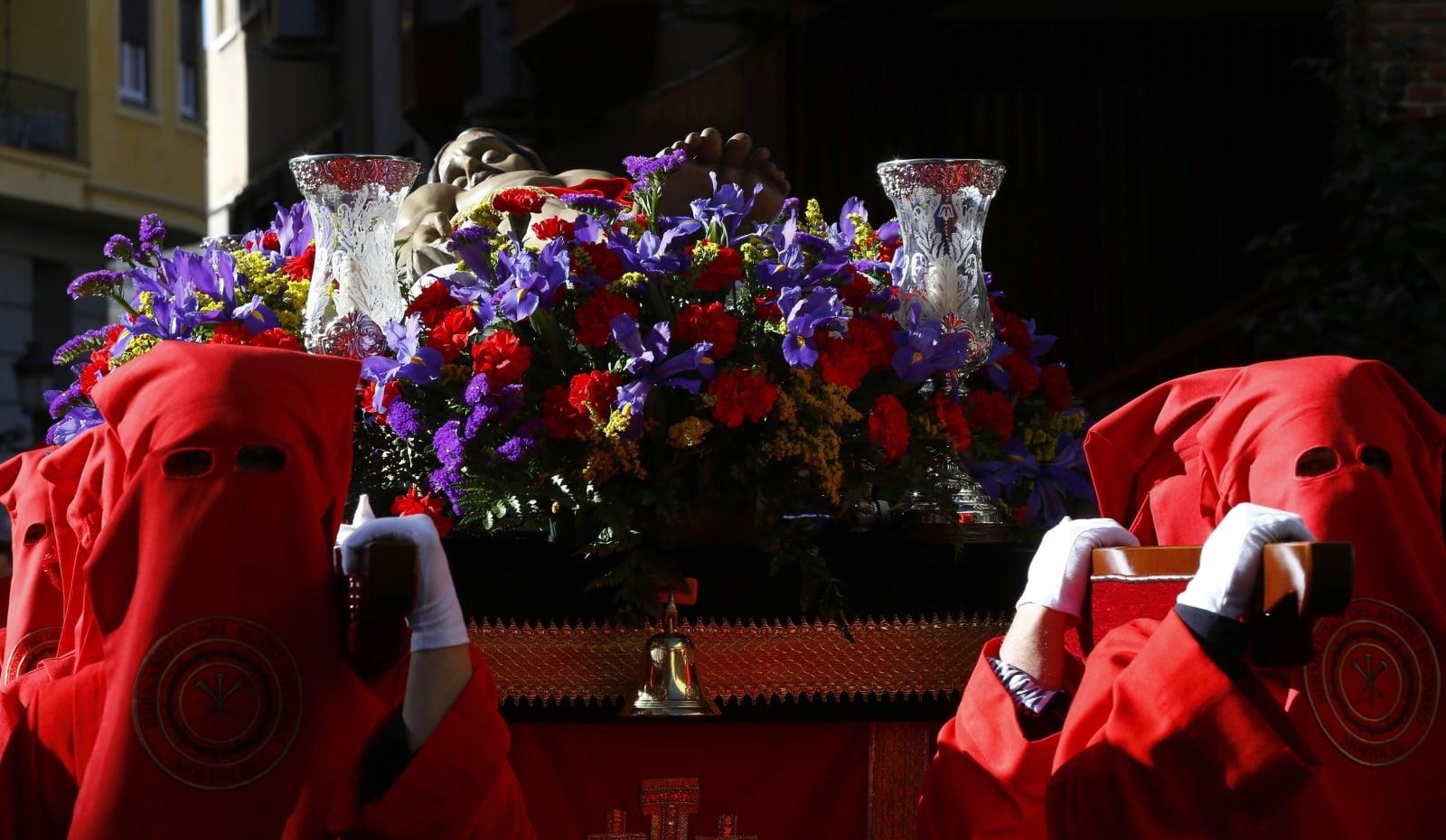 Święty Tydzień w Madrycie fot. EPA/J.P. GANDUL