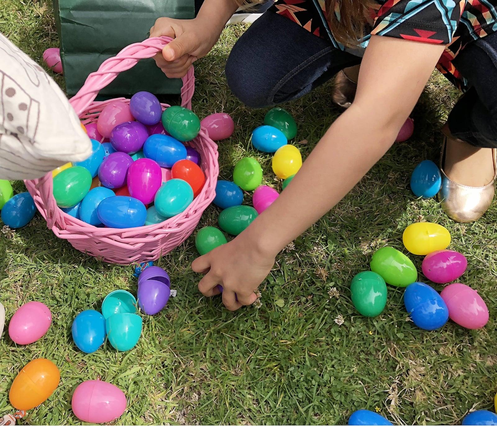 Polowanie na jajka w USA fot. EPA/ANDREW GOMBERT