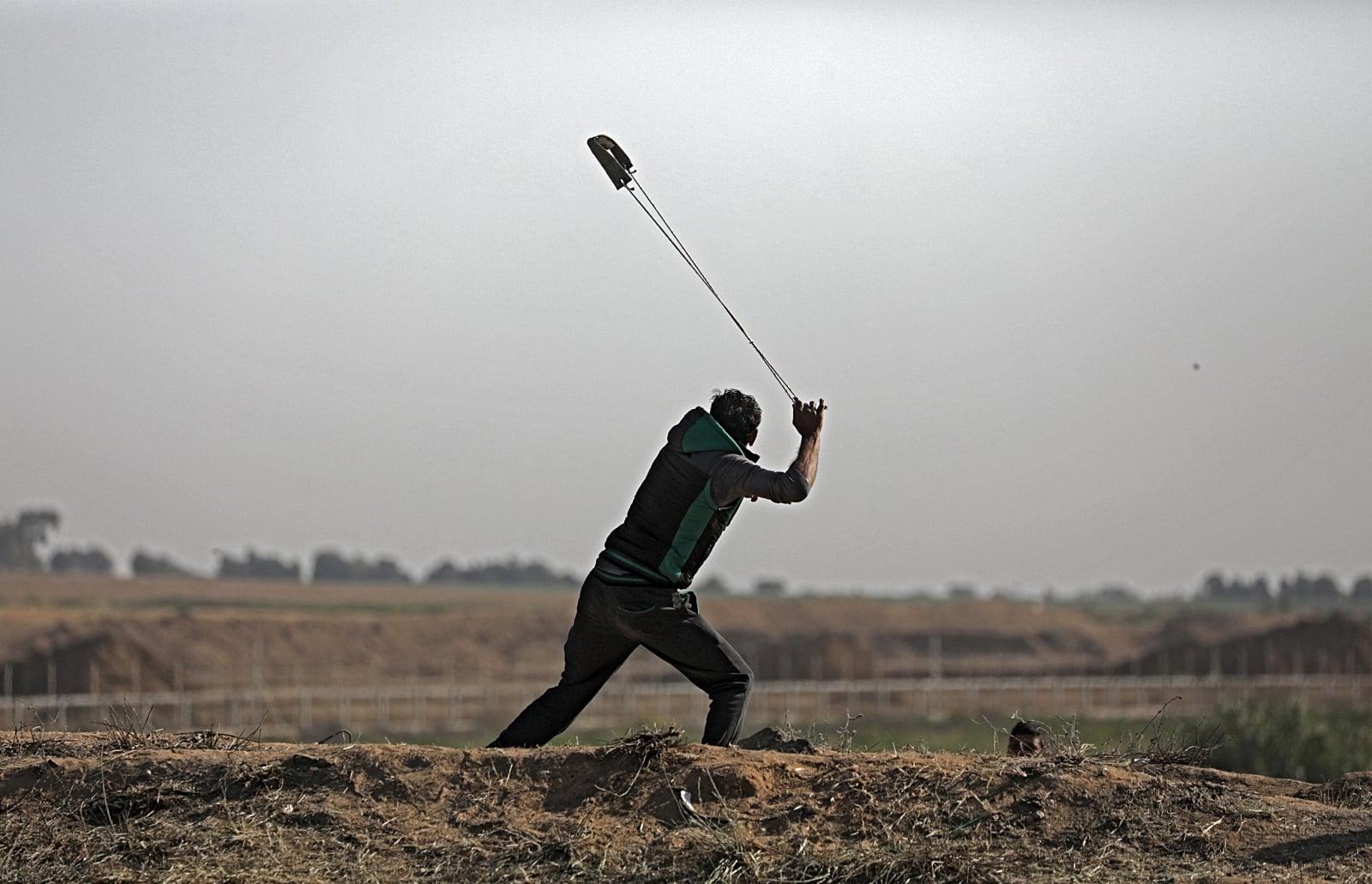 Konflikt Palestyna - Izrael fot. EPA/MOHAMMED SABER
