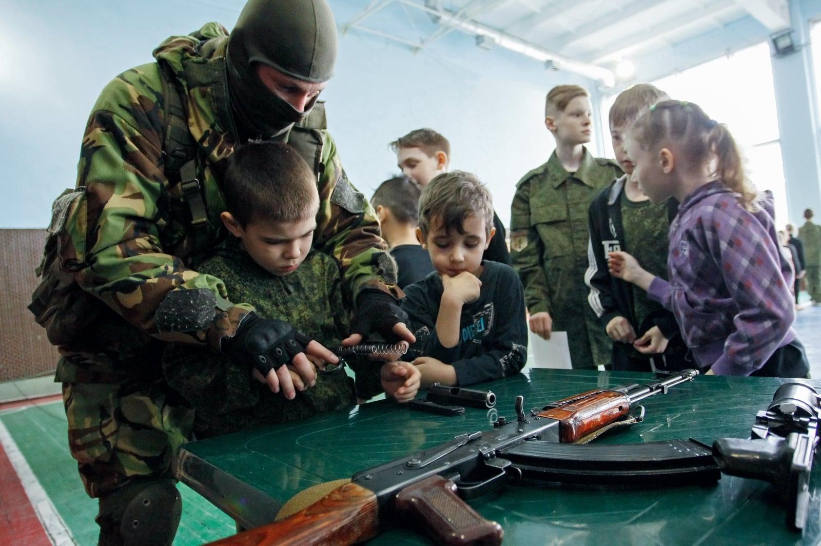 Kryzys na Ukrainie fot. EPA/ALEXANDER ERMOCHENKO