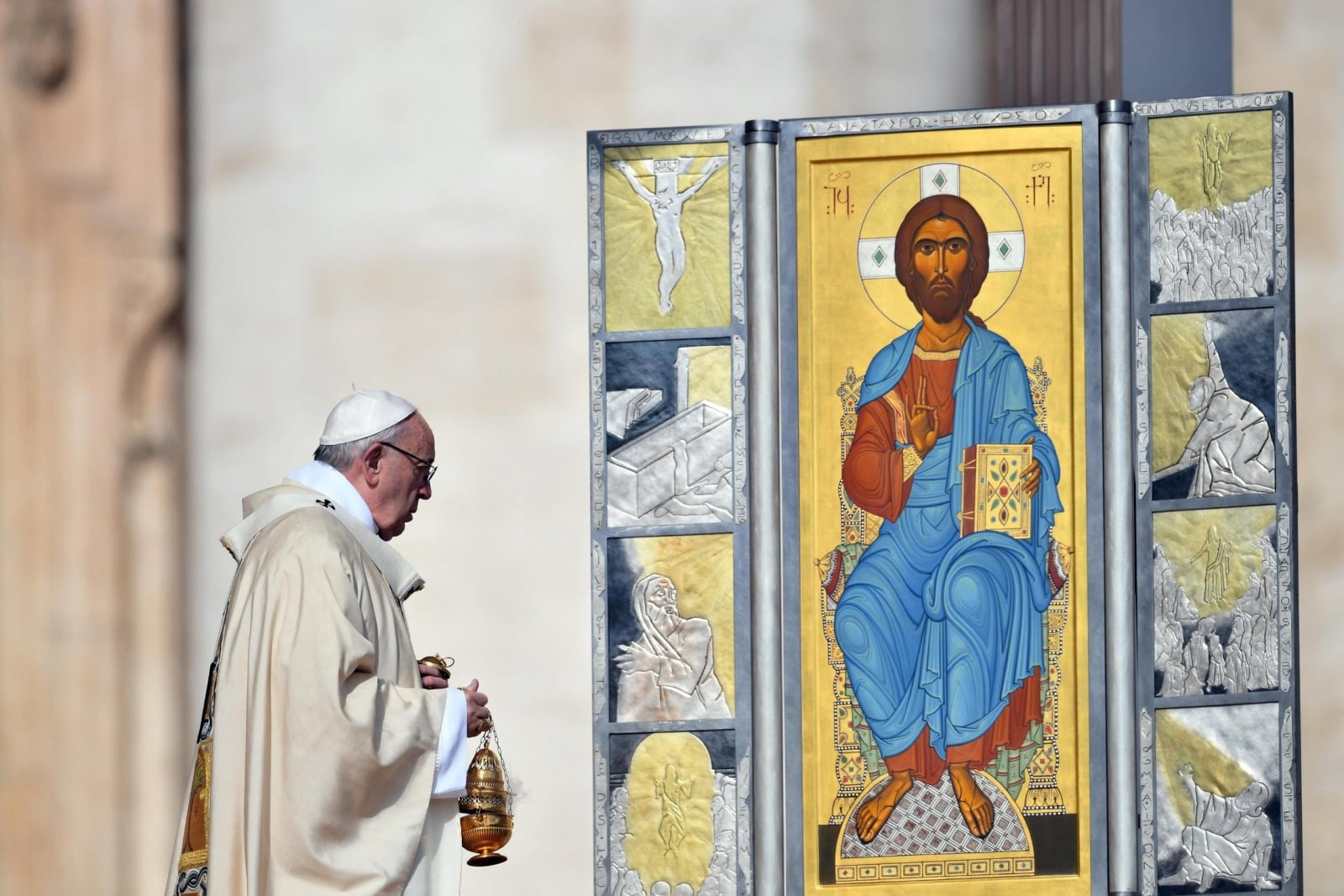 Papież Franciszek w Watykanie, fot. PAP