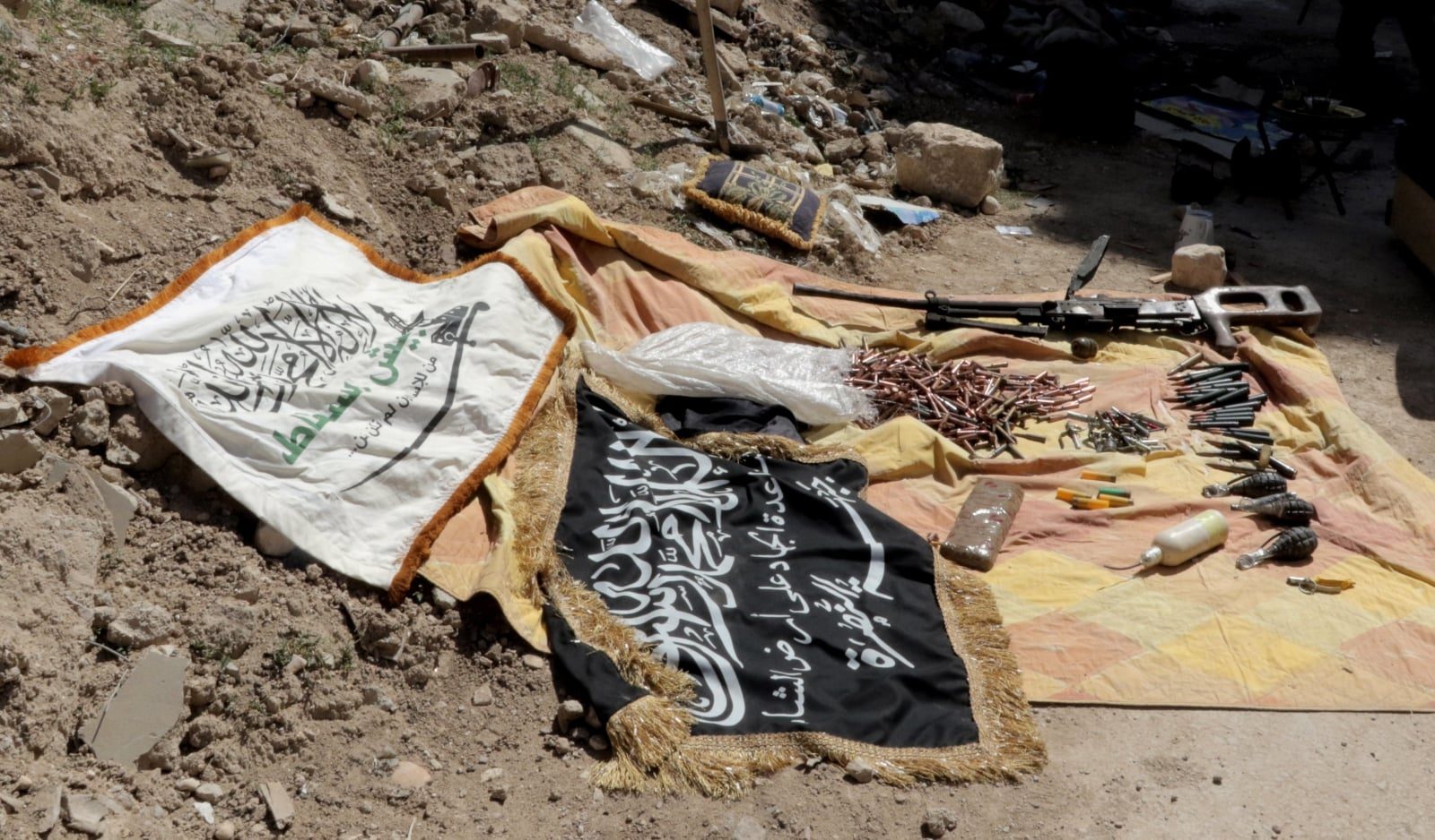 Konflikt w Syrii fot. EPA/YOUSSEF BADAWI