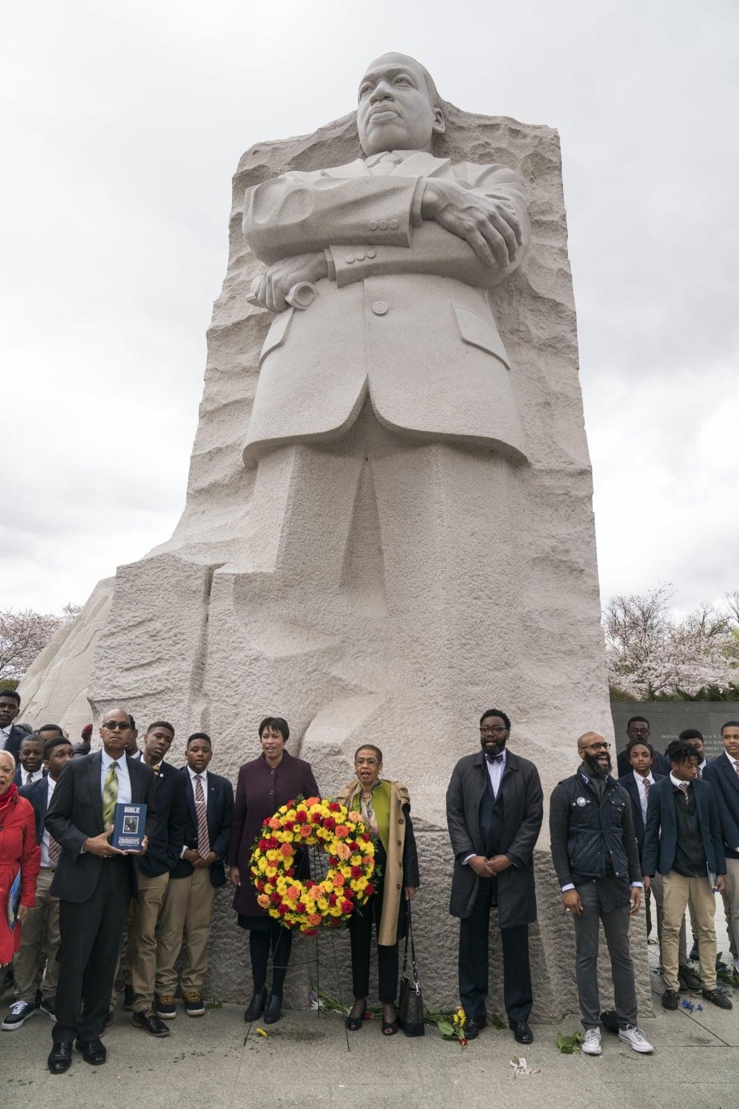 Rocznica zabójstwa Martina Luthera Kinga fot. EPA/JIM LO SCALZO
