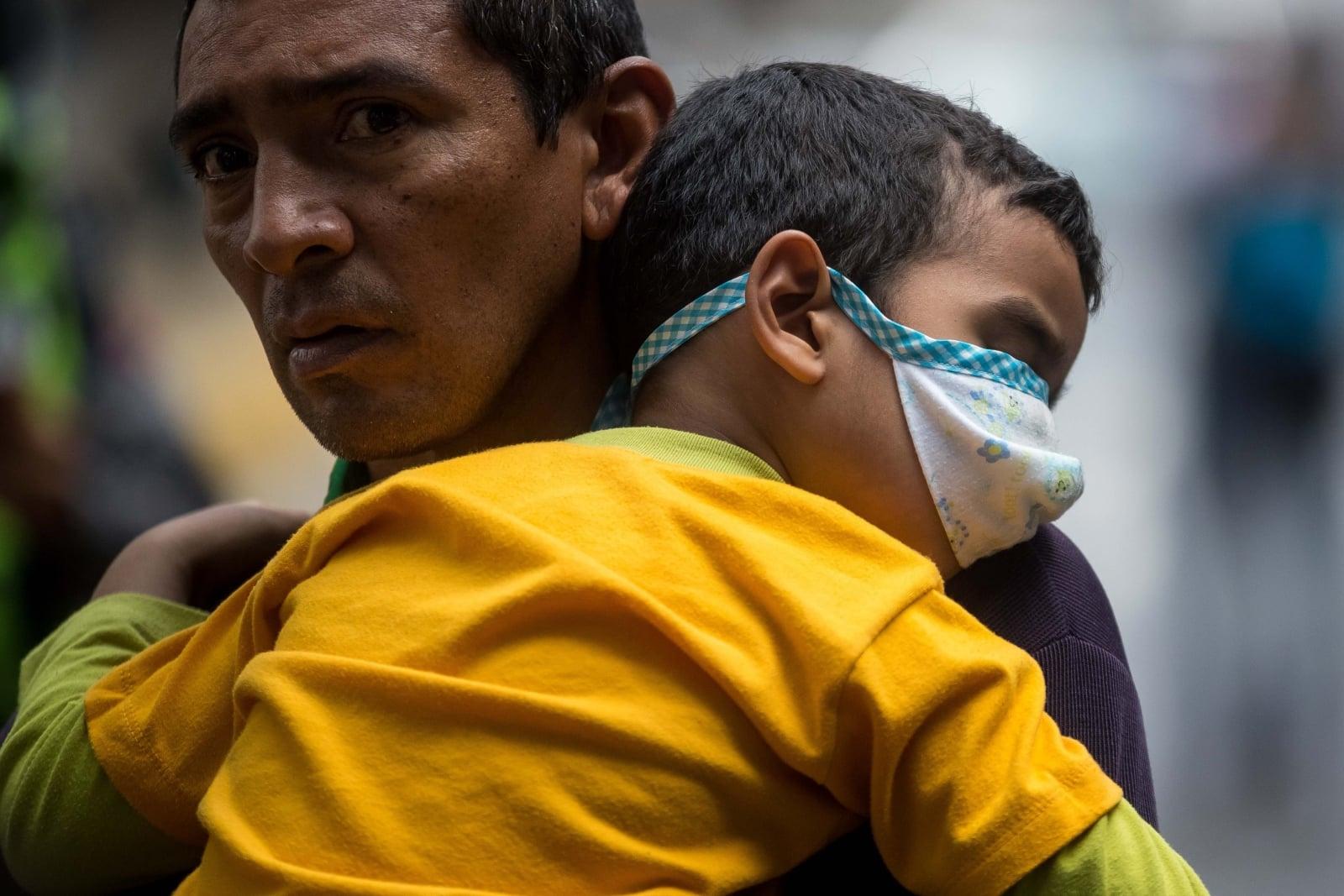 Kryzys w Wenezueli fot. EPA/Miguel Gutiérrez