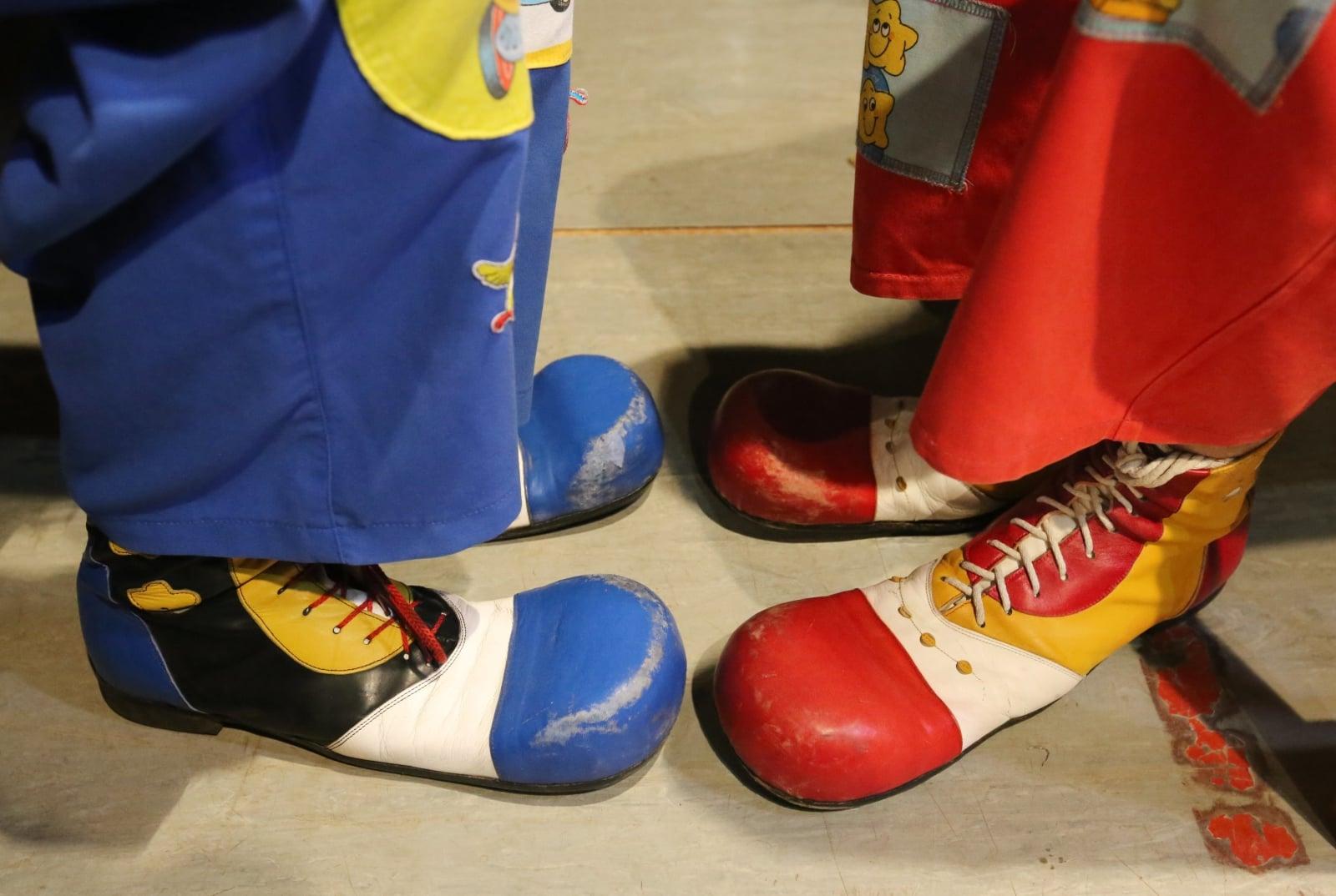 Festiwal klaunów na Białorusi EPA/TATYANA ZENKOVICH