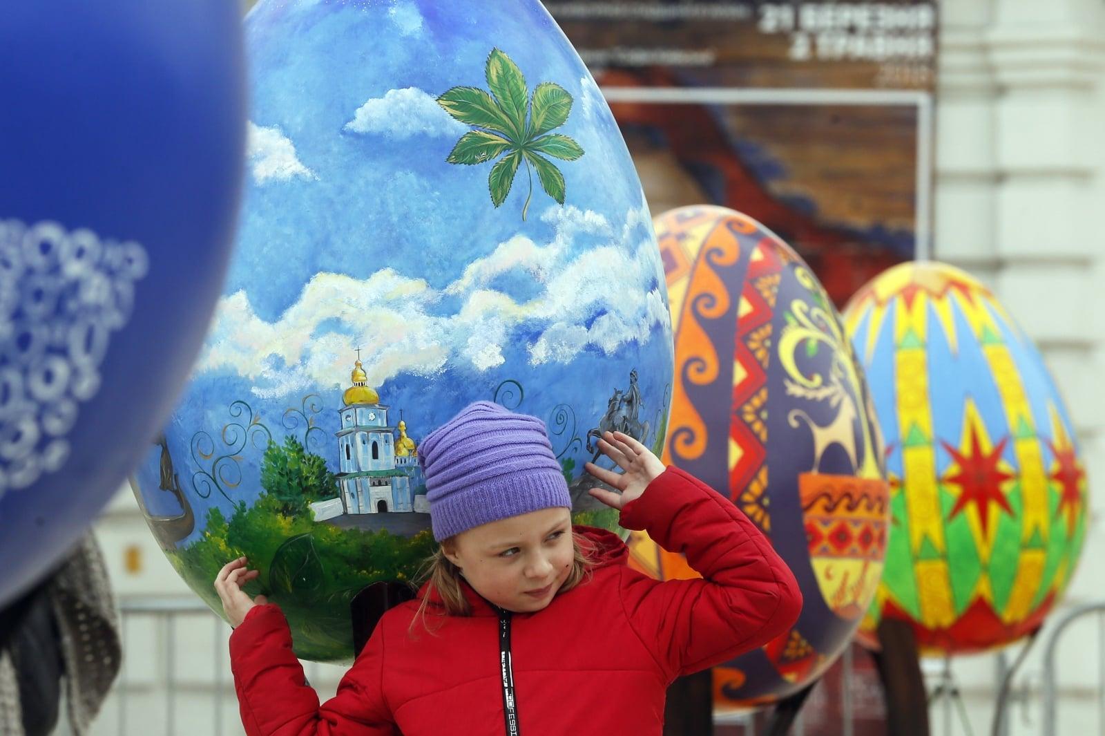 Wielki Tydzień na Ukrainie  EPA/SERGEY DOLZHENKO