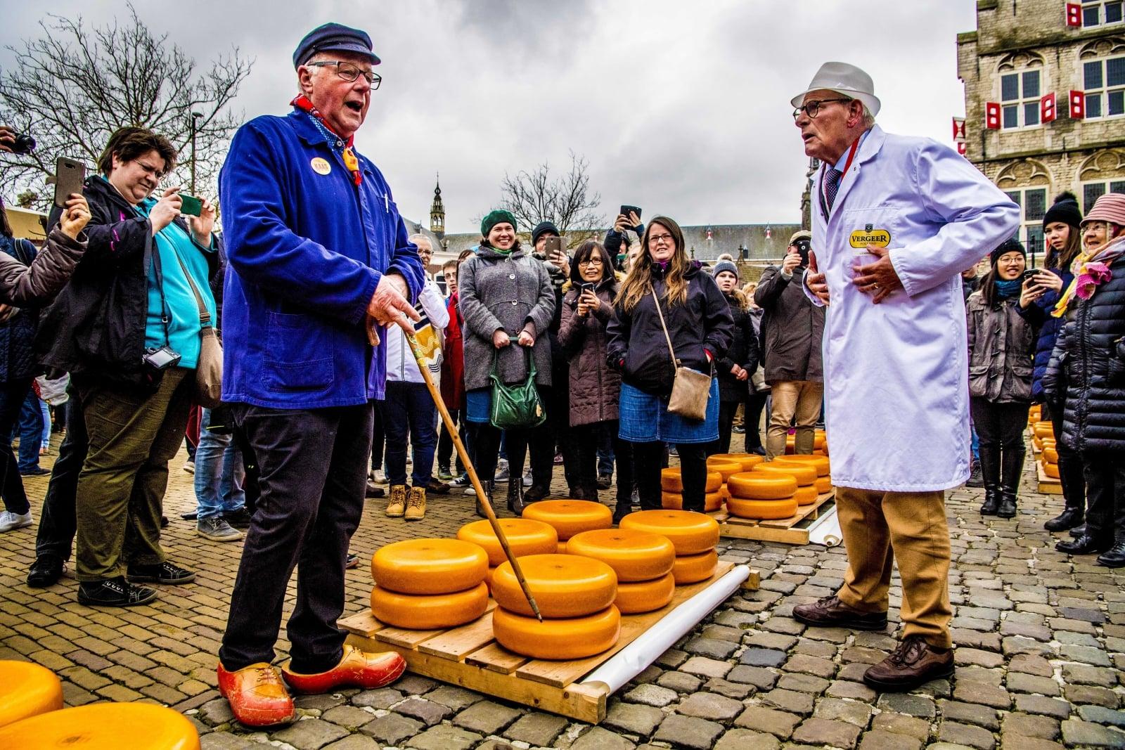 Tar serowy w Holandii EPA/ROBIN UTRECHT