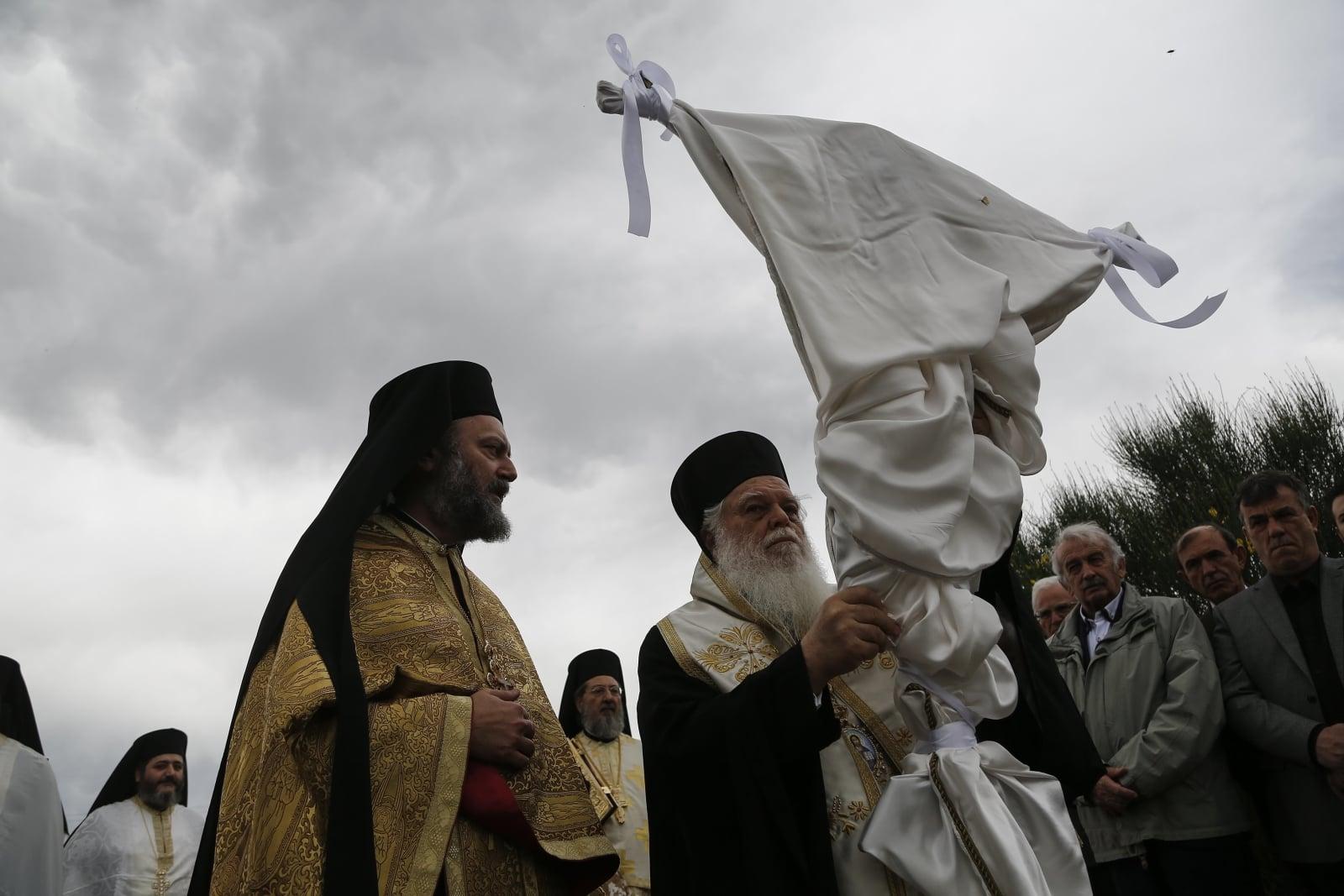 Wielki Piątek w Kościołach Wschodnich  EPA/YANNIS KOLESIDIS