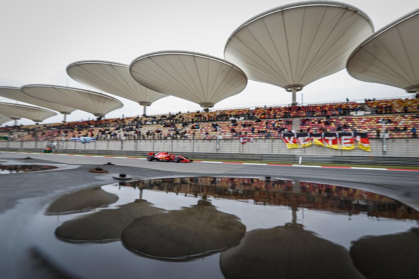 Grand Prix w Szanghaju fot. EPA/ROMAN PILIPEY