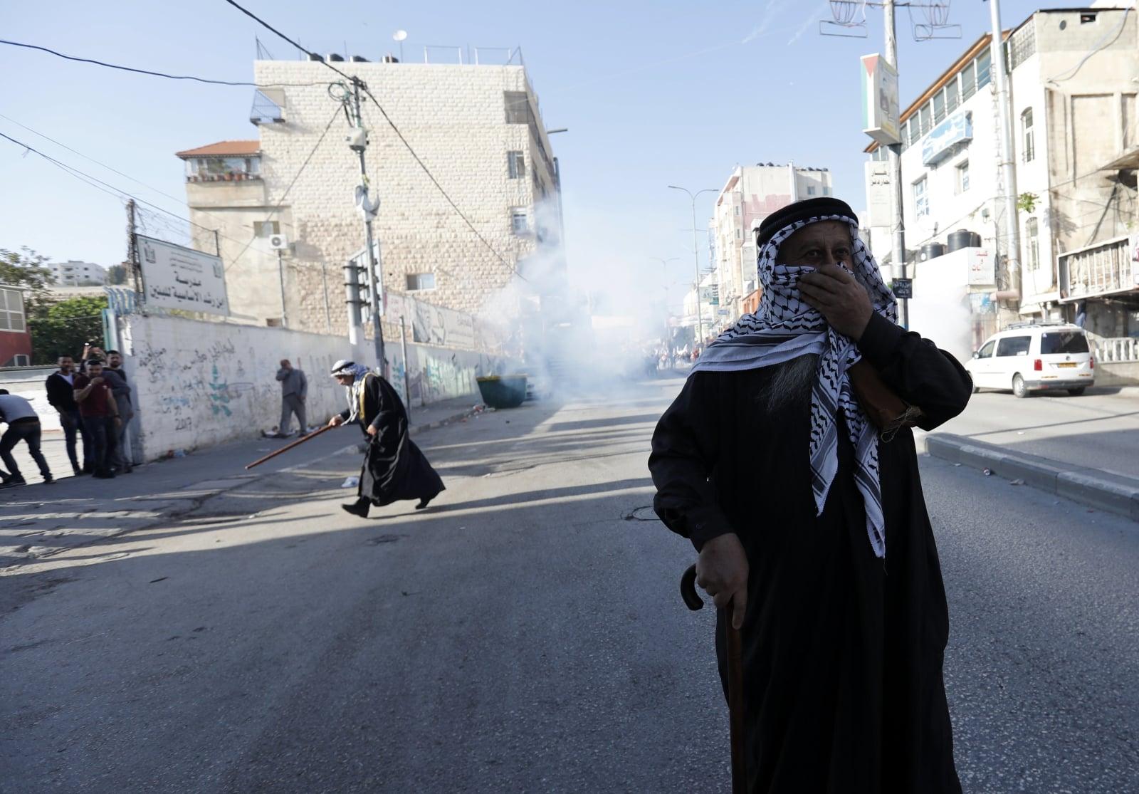 Konflikt w Palestynie fot. EPA/ABED AL HASHLAMOUN