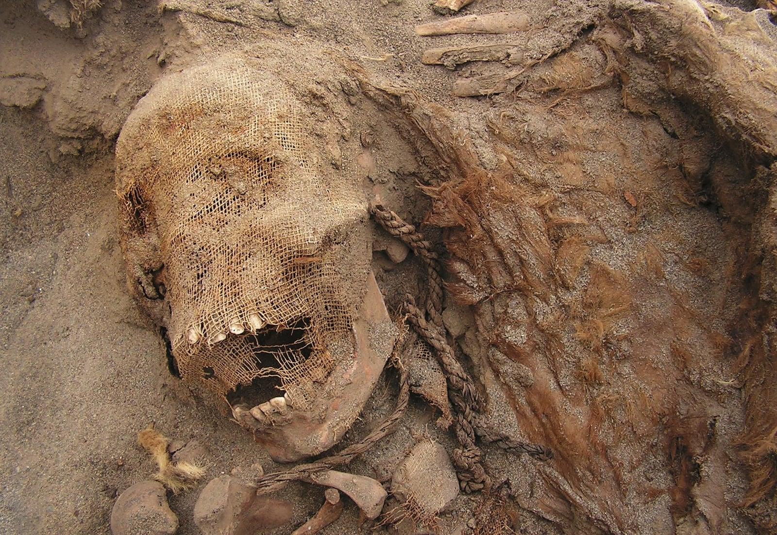 Wykopaliska w Peru fot. EPA/NATIONAL GEOGRAPHIC